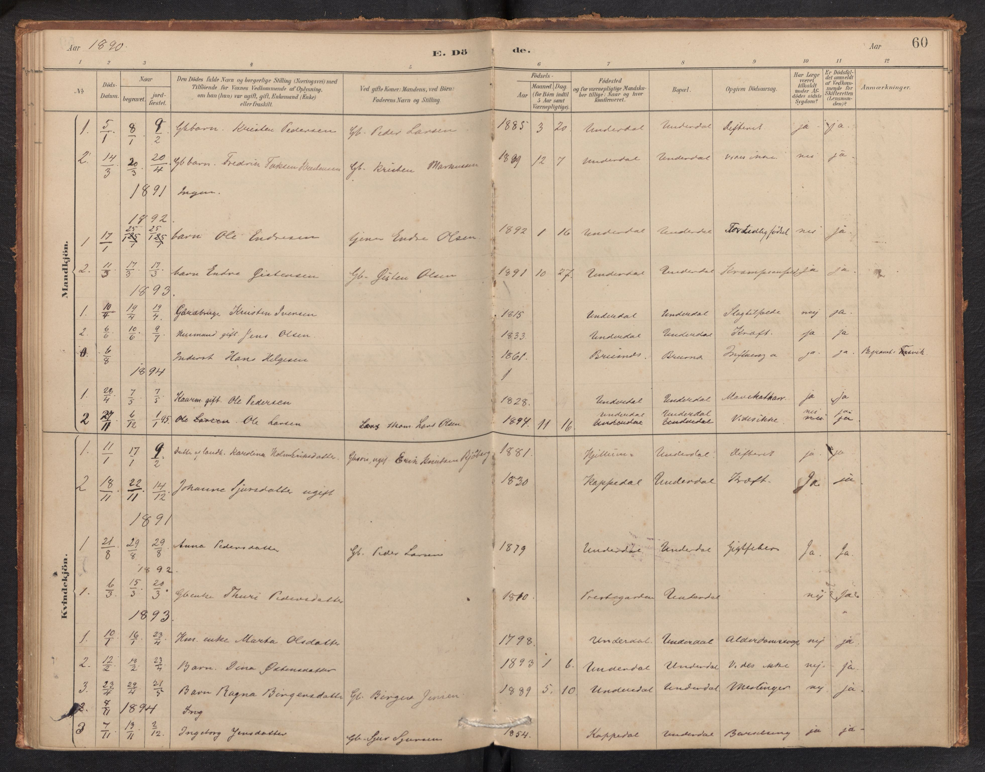 SAB, Aurland Sokneprestembete*, Ministerialbok nr. E 1, 1880-1907, s. 59b-60a