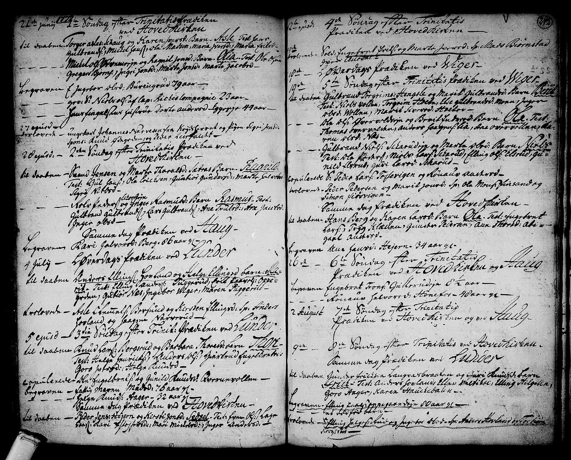SAKO, Norderhov kirkebøker, F/Fa/L0004: Ministerialbok nr. 4, 1758-1774, s. 242