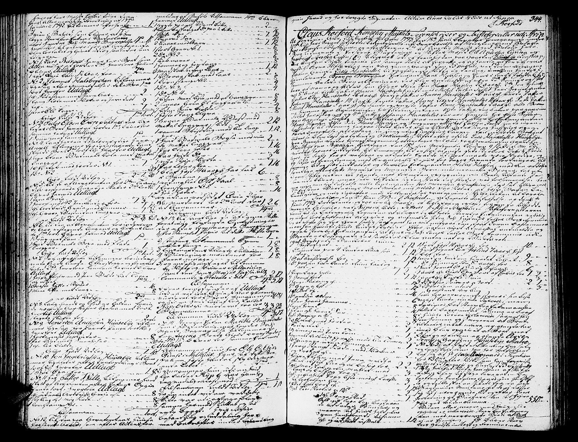 SAT, Strinda og Selbu sorenskriveri, 3/3A/3Aa/L0008: Skifteprotokoll 8, 1790-1797, s. 343b-344a