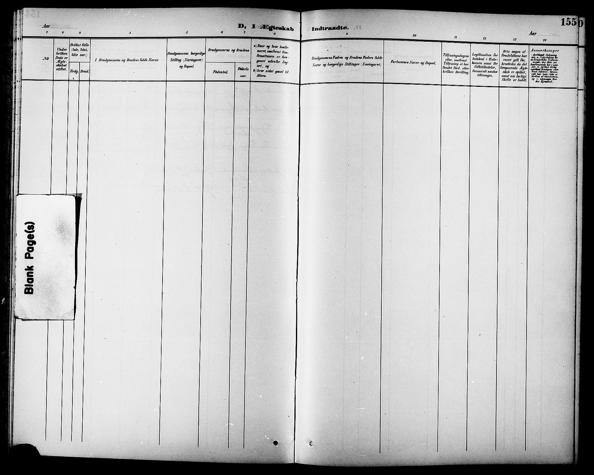 SAT, Ministerialprotokoller, klokkerbøker og fødselsregistre - Sør-Trøndelag, 630/L0505: Klokkerbok nr. 630C03, 1899-1914, s. 155