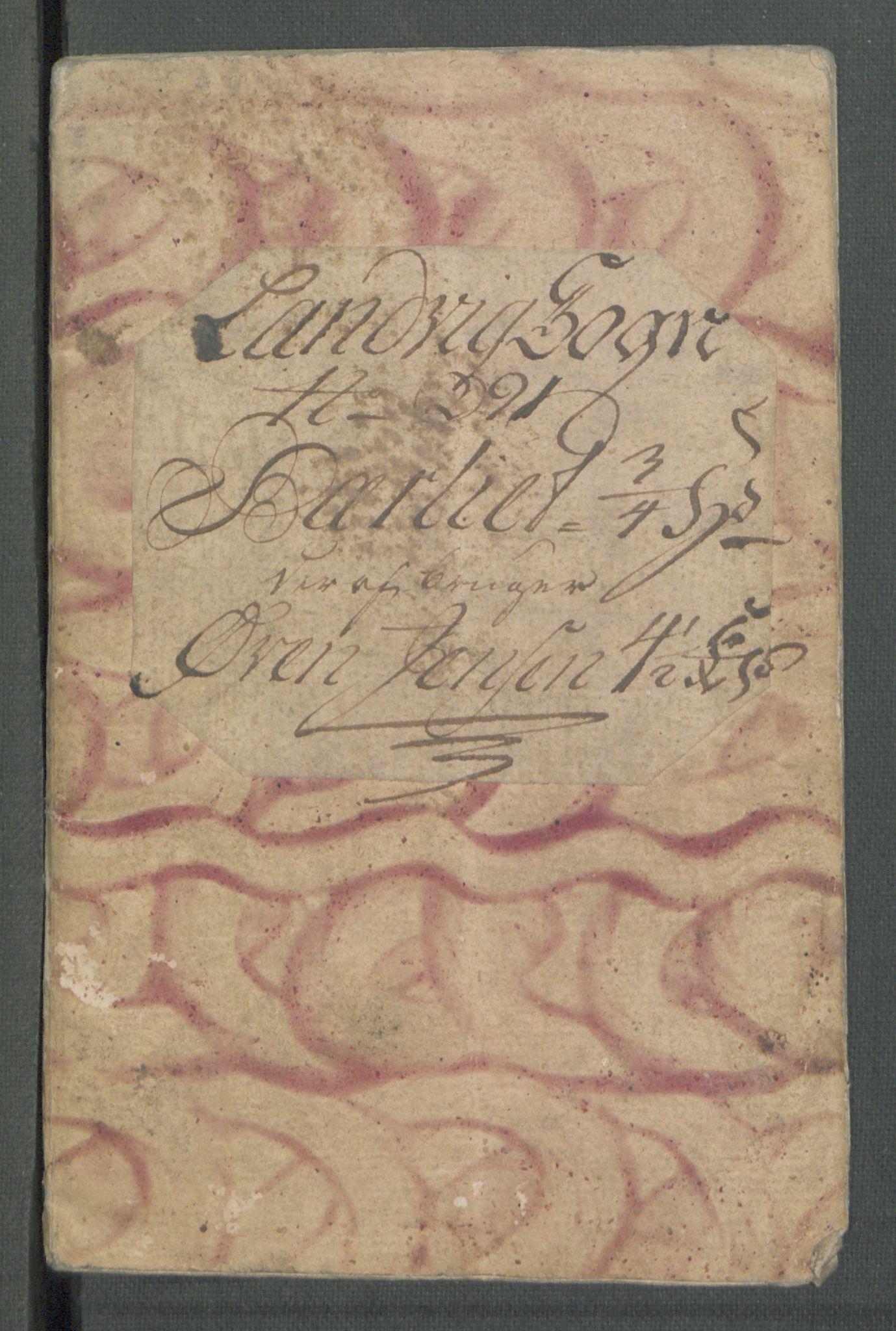 RA, Rentekammeret inntil 1814, Realistisk ordnet avdeling, Od/L0001: Oppløp, 1786-1769, s. 705
