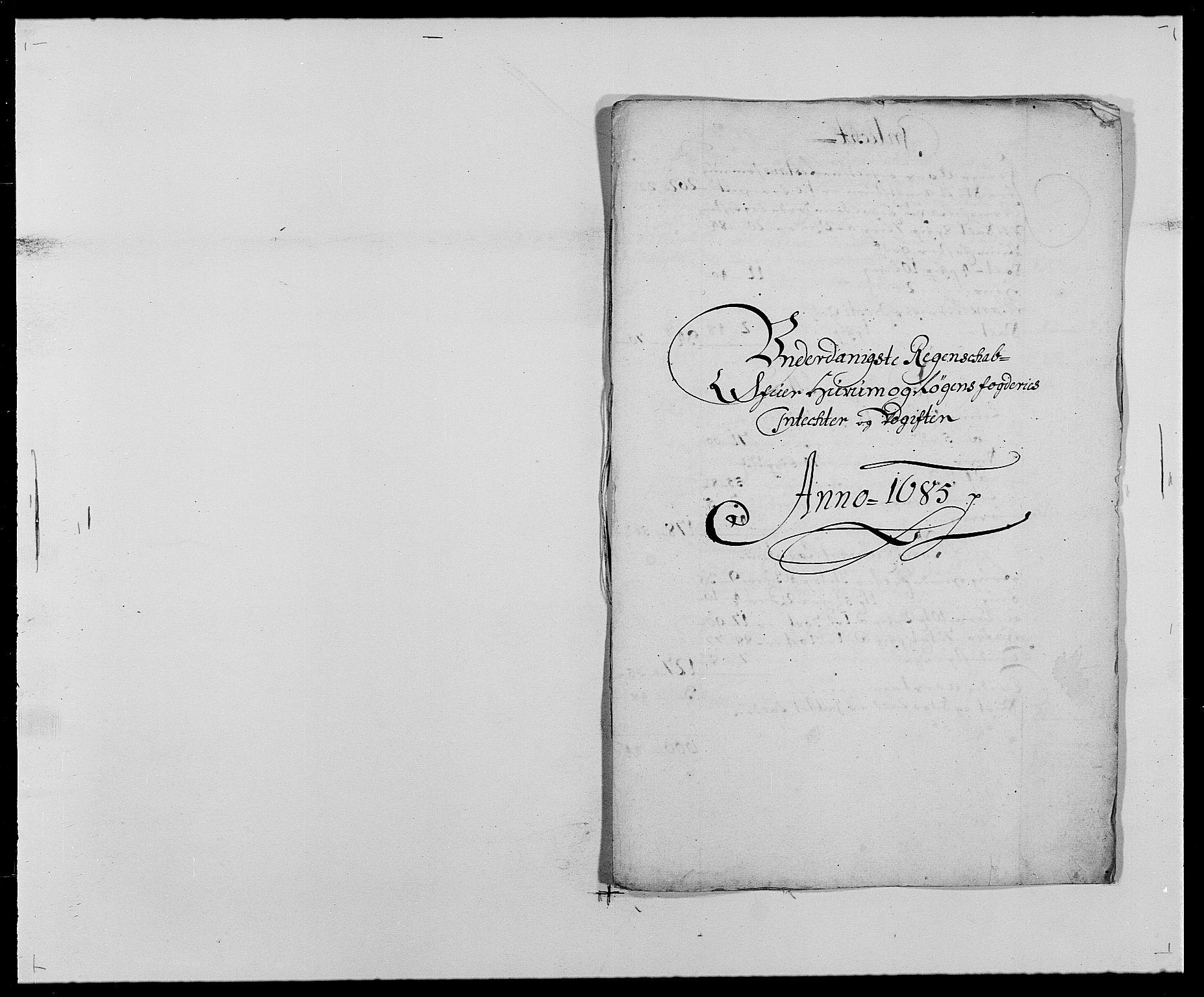 RA, Rentekammeret inntil 1814, Reviderte regnskaper, Fogderegnskap, R29/L1692: Fogderegnskap Hurum og Røyken, 1682-1687, s. 227