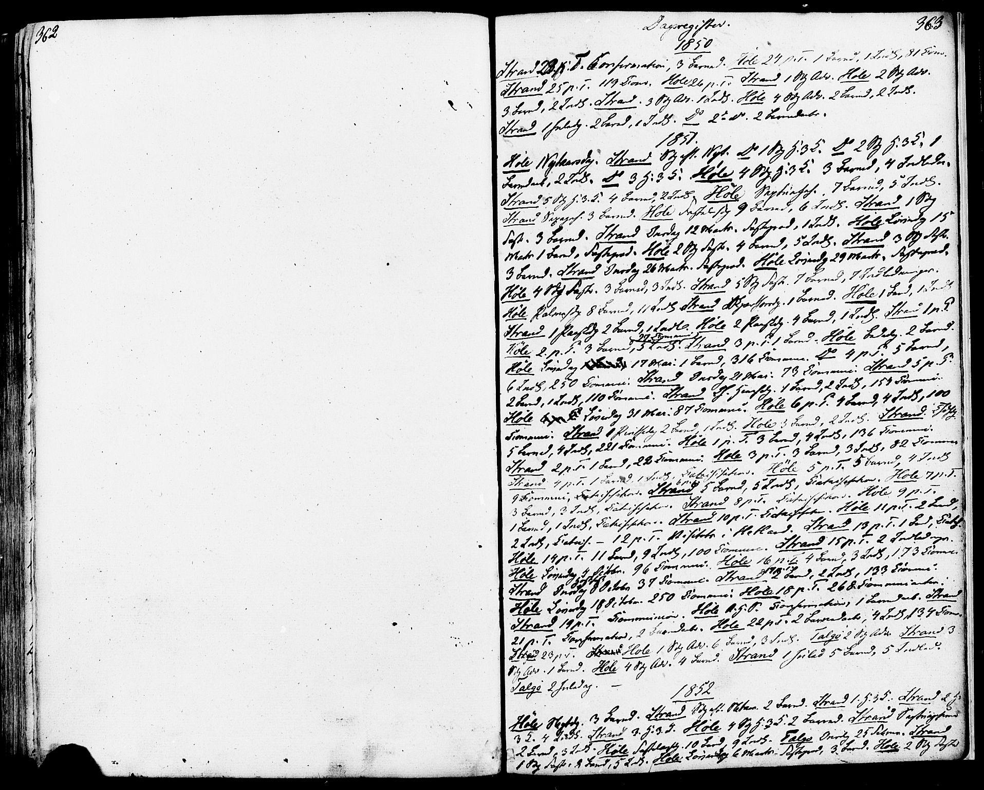 SAST, Strand sokneprestkontor, H/Ha/Haa/L0006: Ministerialbok nr. A 6, 1834-1854, s. 362-363