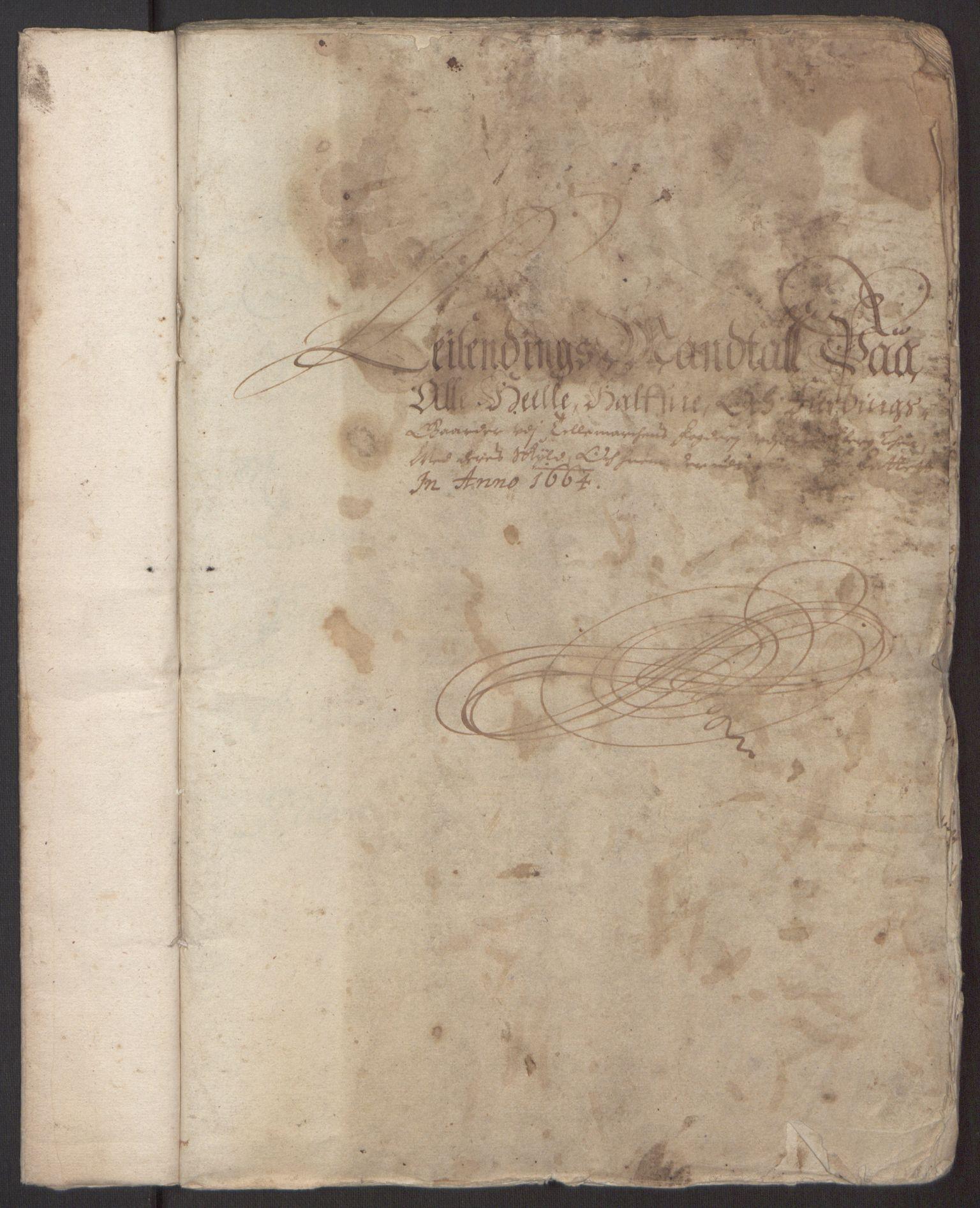 RA, Rentekammeret inntil 1814, Reviderte regnskaper, Fogderegnskap, R35/L2055: Fogderegnskap Øvre og Nedre Telemark, 1664, s. 212