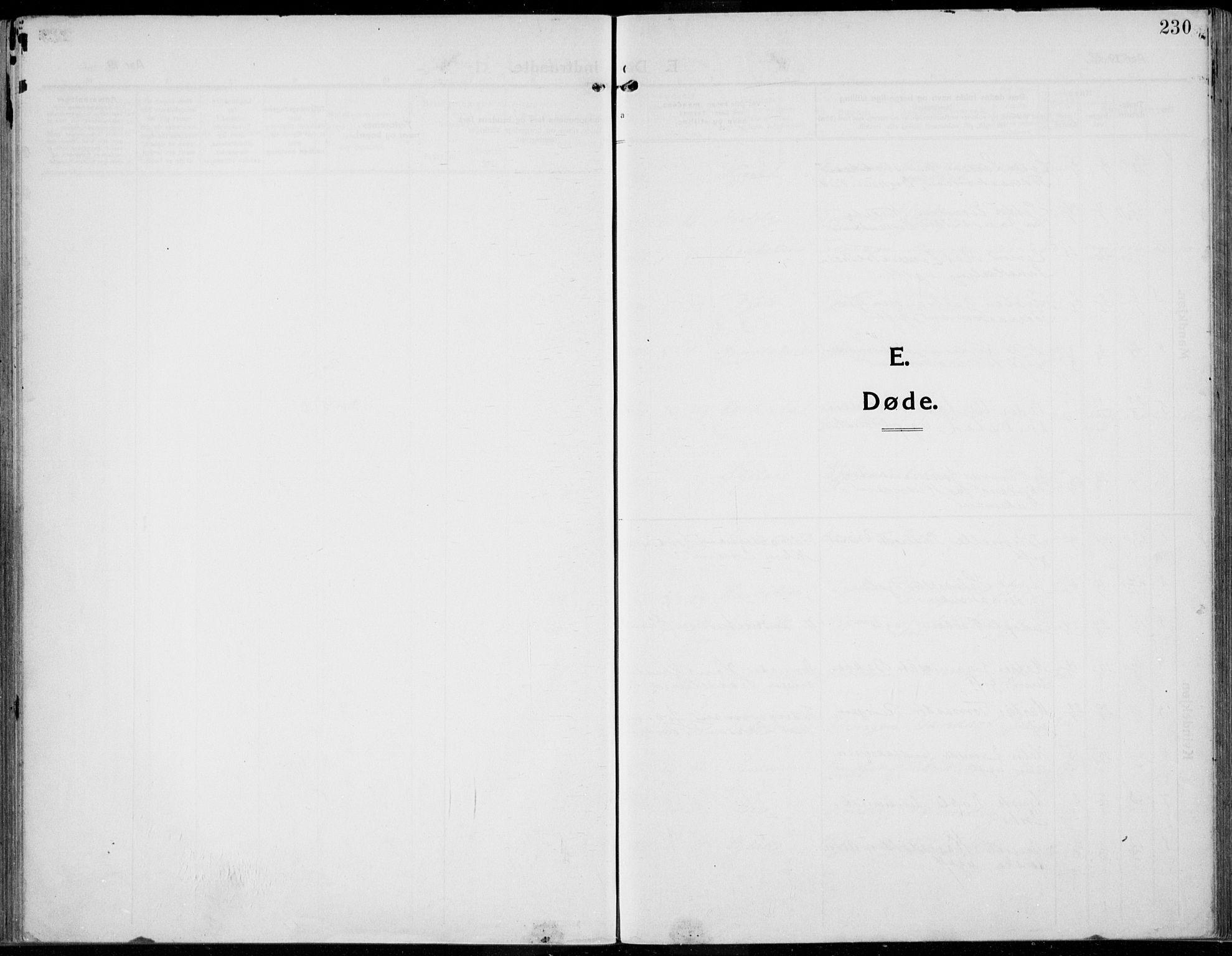 SAH, Kolbu prestekontor, Ministerialbok nr. 2, 1912-1926, s. 230