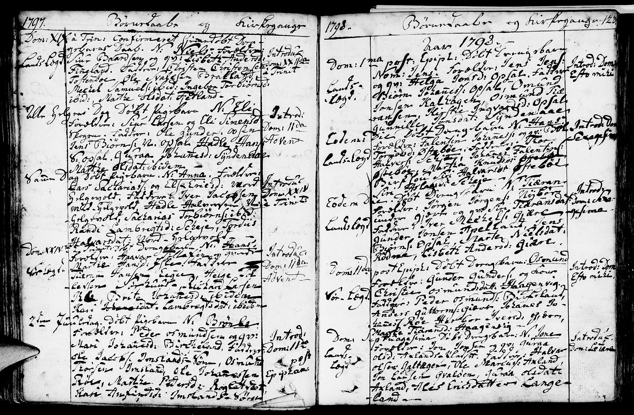 SAST, Vikedal sokneprestkontor, IV: Ministerialbok nr. A 2, 1779-1817, s. 123