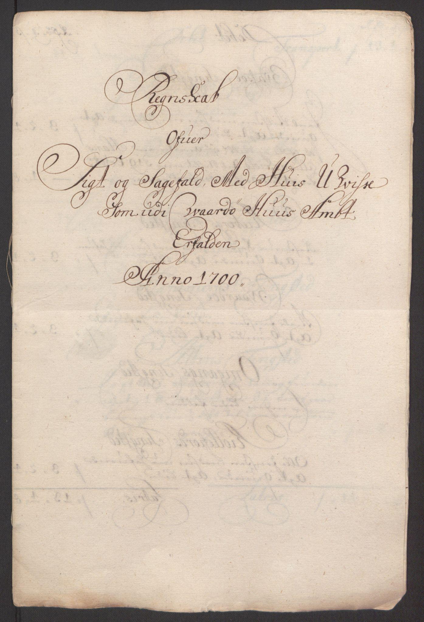 RA, Rentekammeret inntil 1814, Reviderte regnskaper, Fogderegnskap, R69/L4851: Fogderegnskap Finnmark/Vardøhus, 1691-1700, s. 473