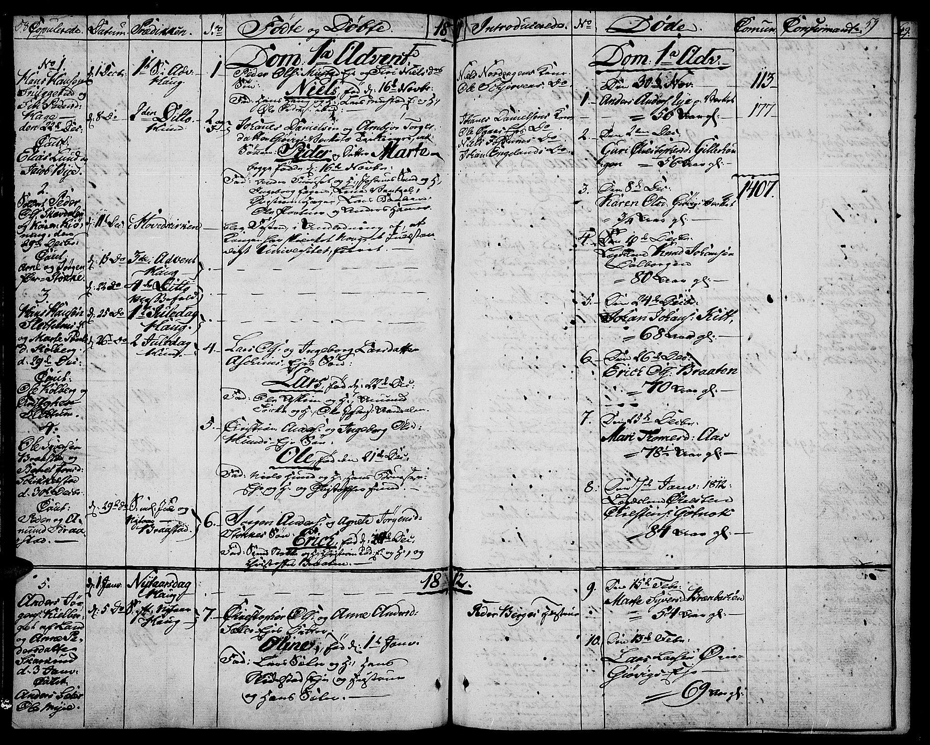 SAH, Vardal prestekontor, H/Ha/Haa/L0003: Ministerialbok nr. 3, 1808-1814, s. 58-59