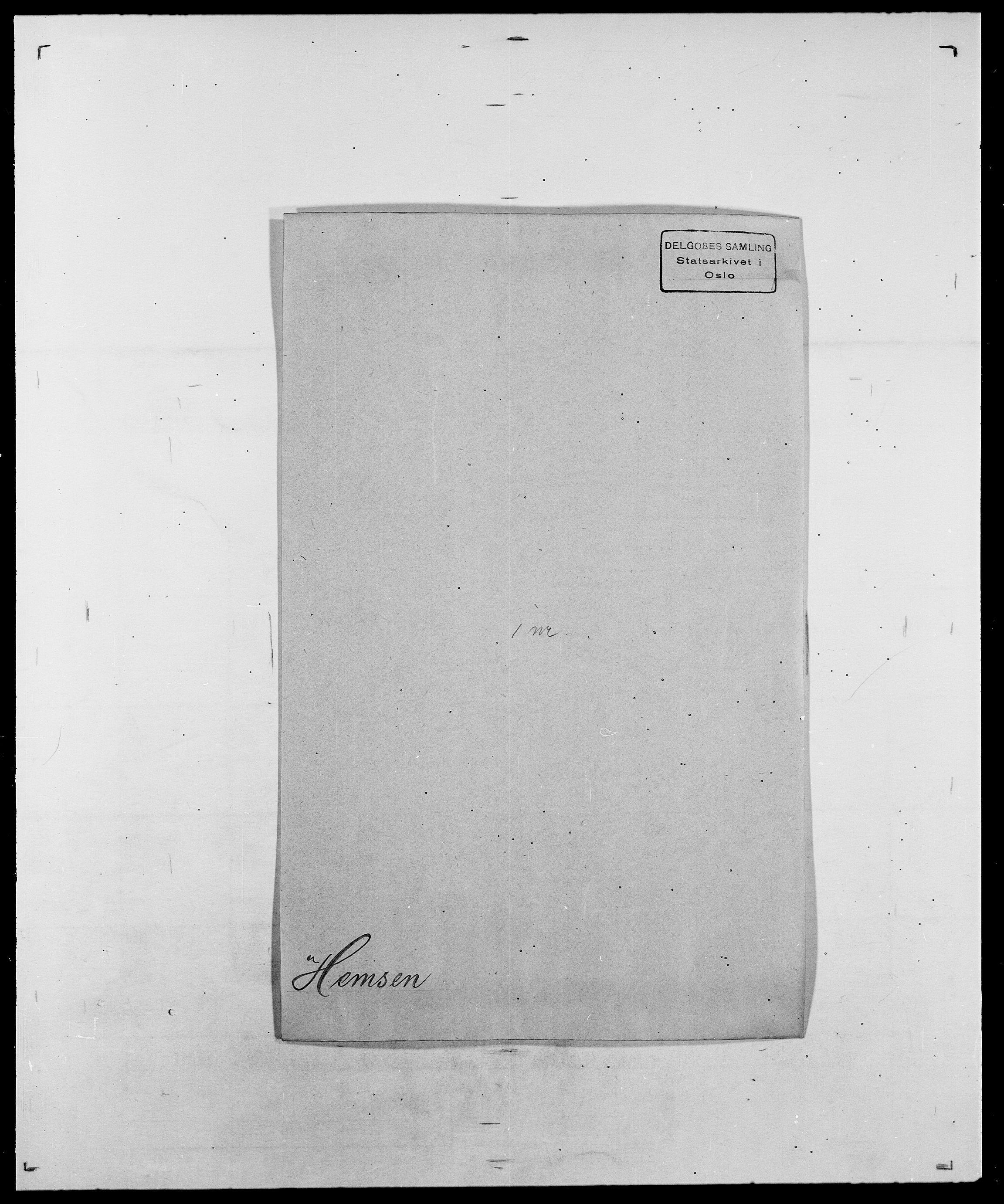 SAO, Delgobe, Charles Antoine - samling, D/Da/L0017: Helander - Hjørne, s. 167