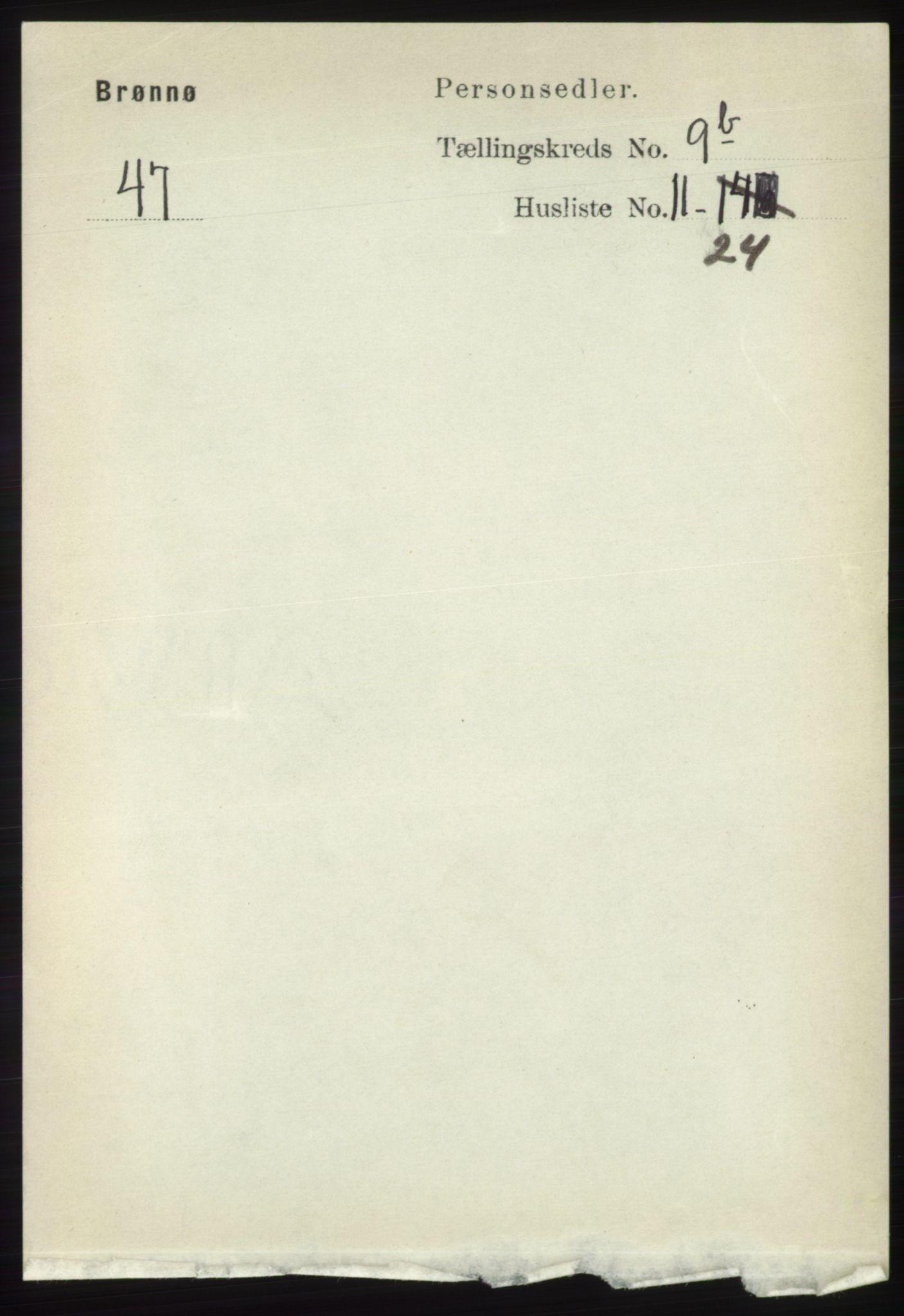 RA, Folketelling 1891 for 1814 Brønnøy herred, 1891, s. 5490