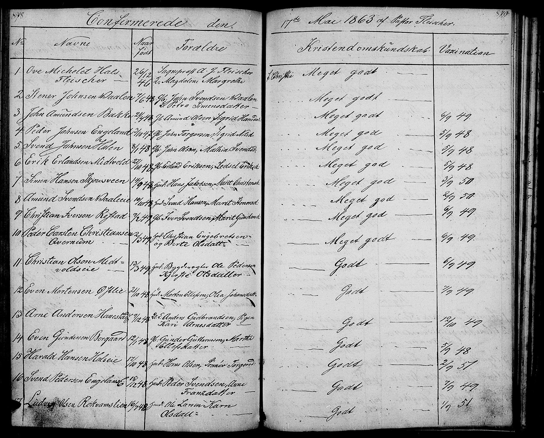 SAH, Gausdal prestekontor, Klokkerbok nr. 4, 1835-1870, s. 878-879