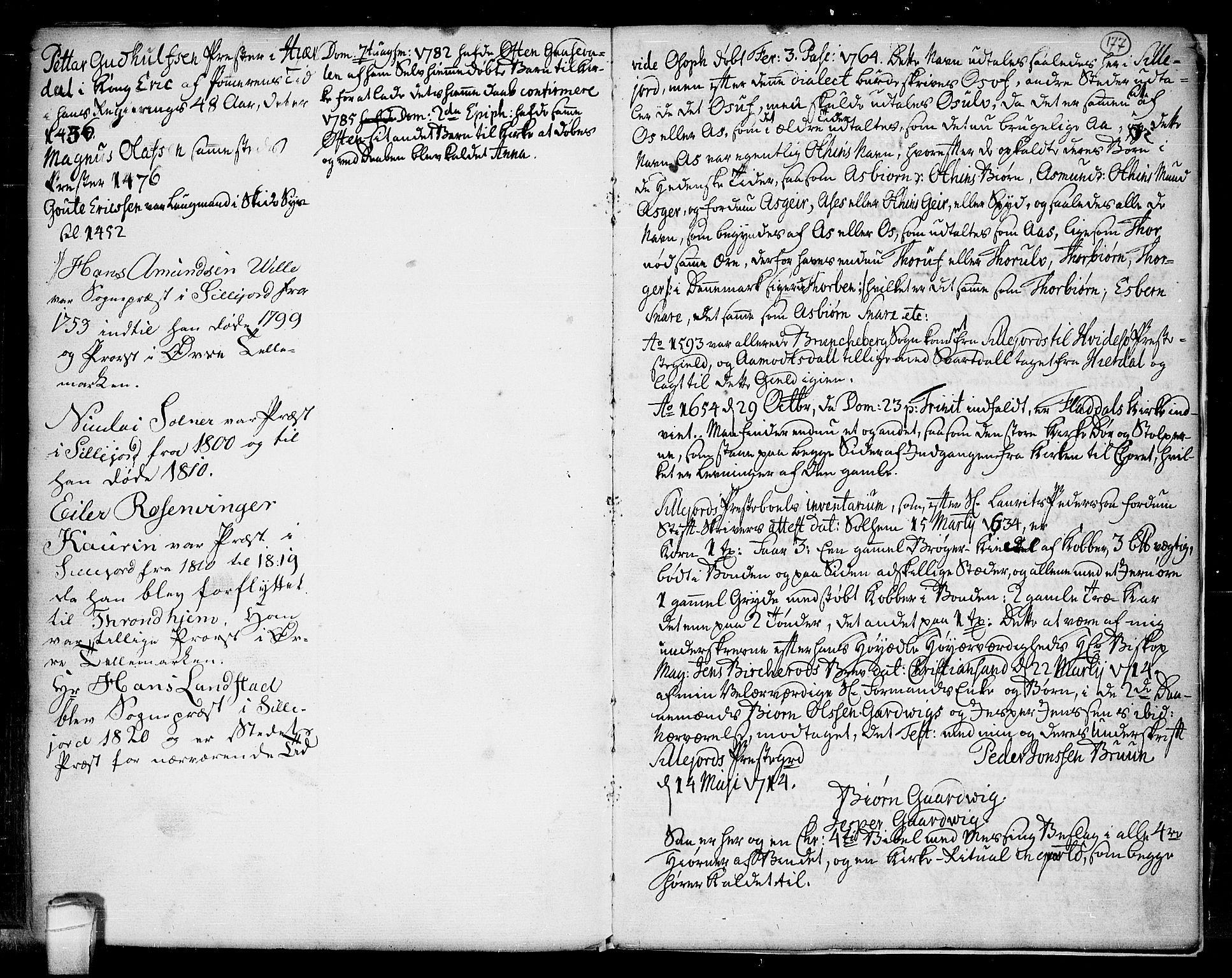 SAKO, Seljord kirkebøker, F/Fa/L0007: Ministerialbok nr. I 7, 1755-1800, s. 177