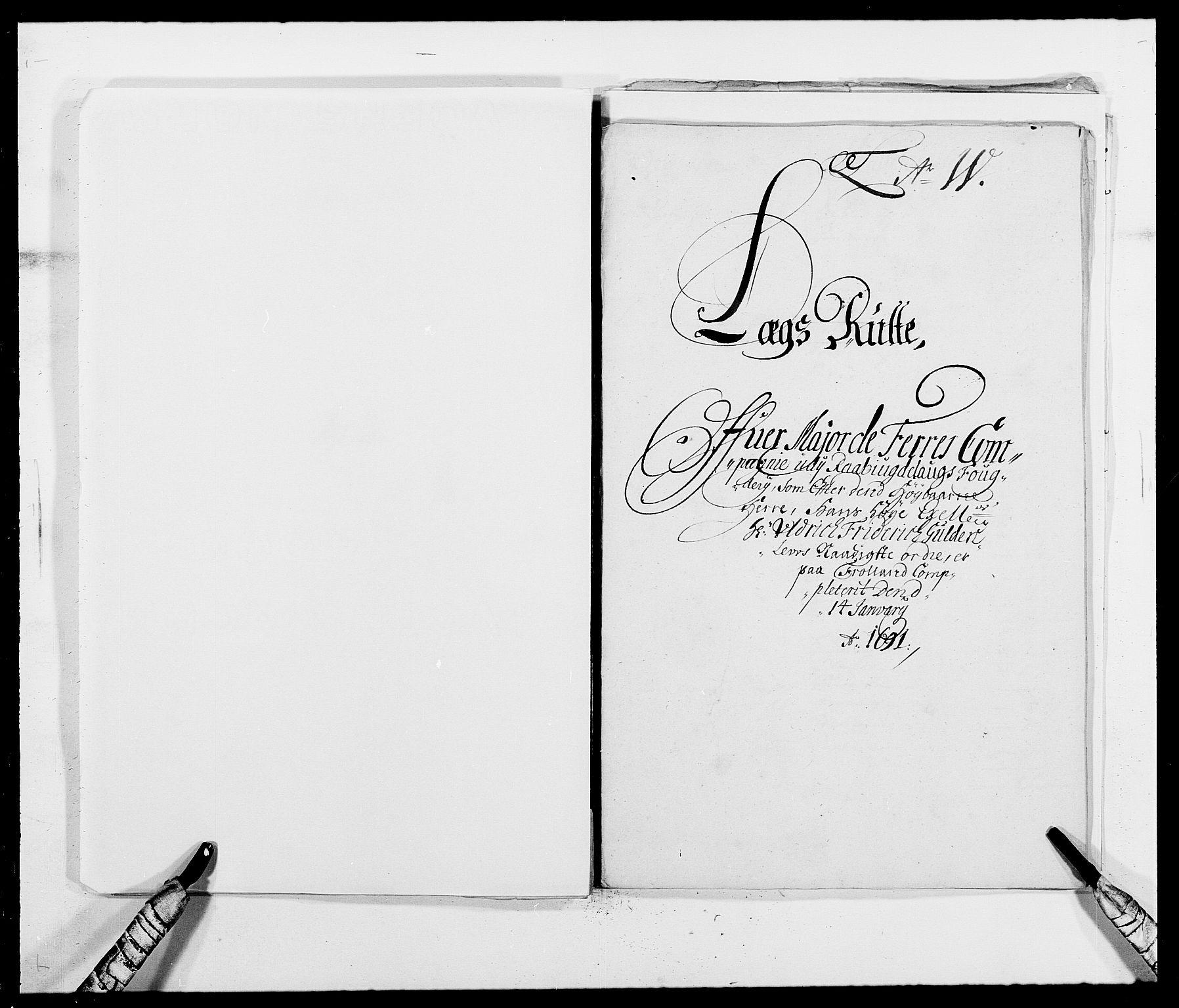 RA, Rentekammeret inntil 1814, Reviderte regnskaper, Fogderegnskap, R40/L2443: Fogderegnskap Råbyggelag, 1691-1692, s. 35
