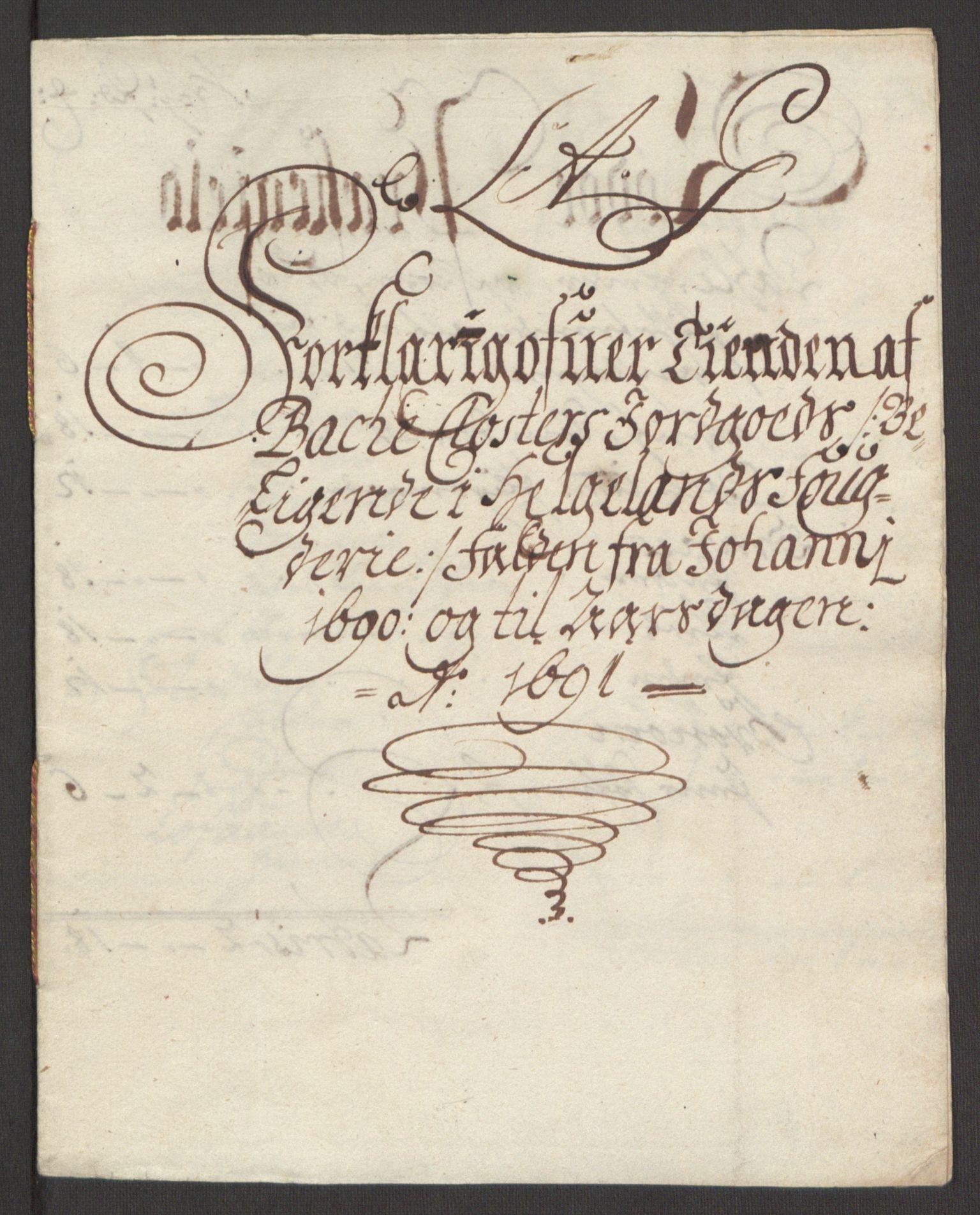 RA, Rentekammeret inntil 1814, Reviderte regnskaper, Fogderegnskap, R65/L4504: Fogderegnskap Helgeland, 1691-1692, s. 139