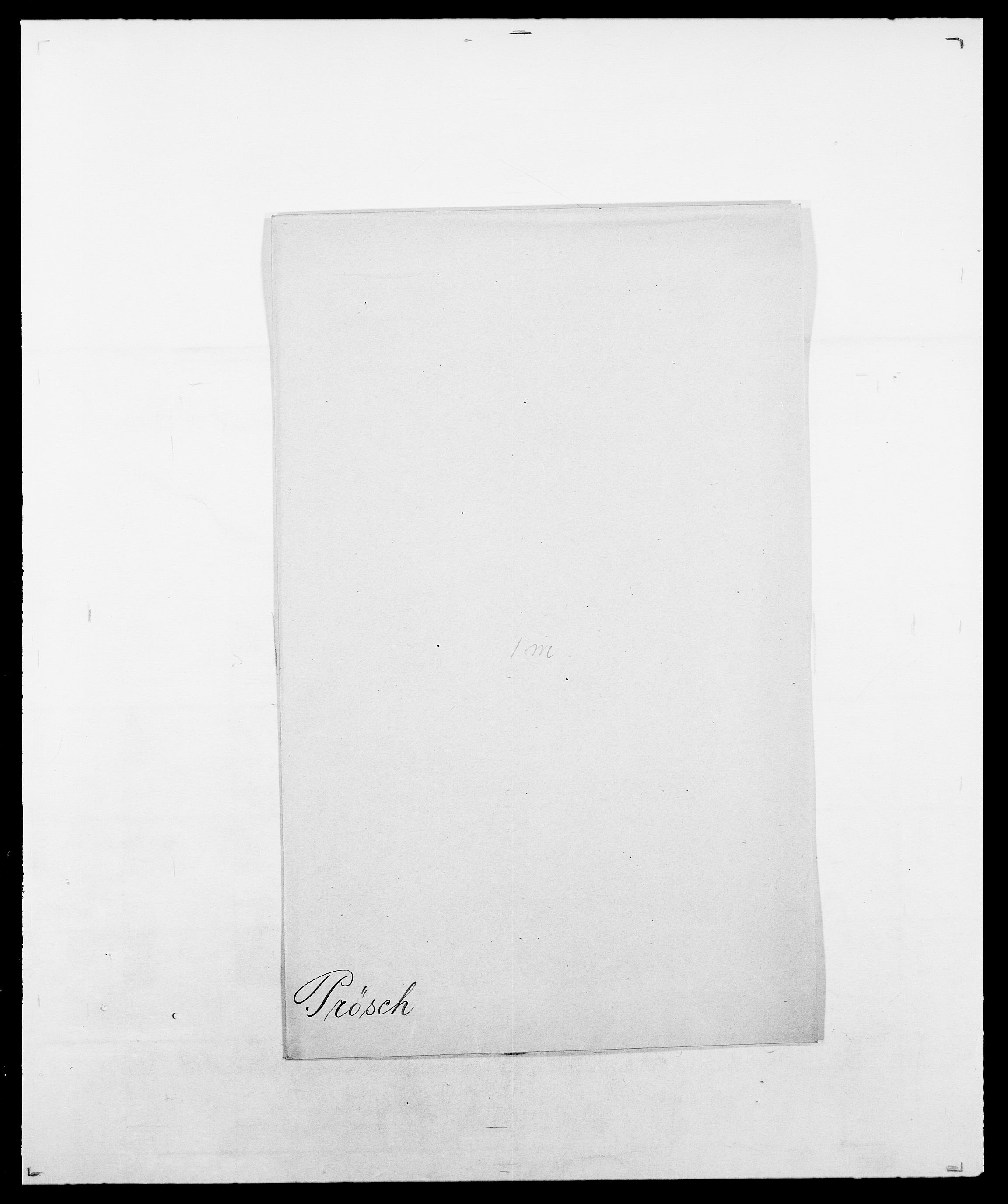 SAO, Delgobe, Charles Antoine - samling, D/Da/L0031: de Place - Raaum, s. 422