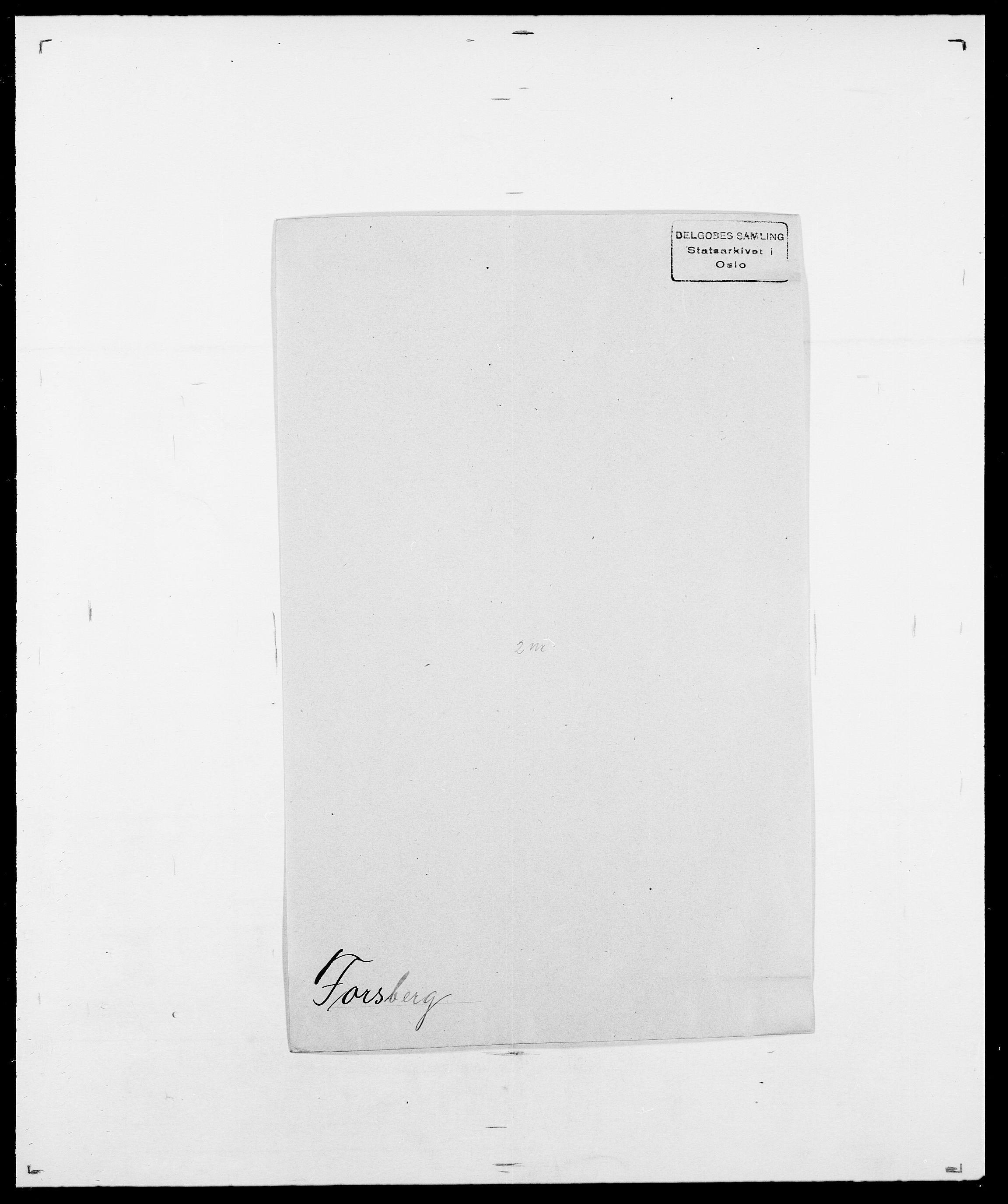 SAO, Delgobe, Charles Antoine - samling, D/Da/L0012: Flor, Floer, Flohr - Fritzner, s. 600
