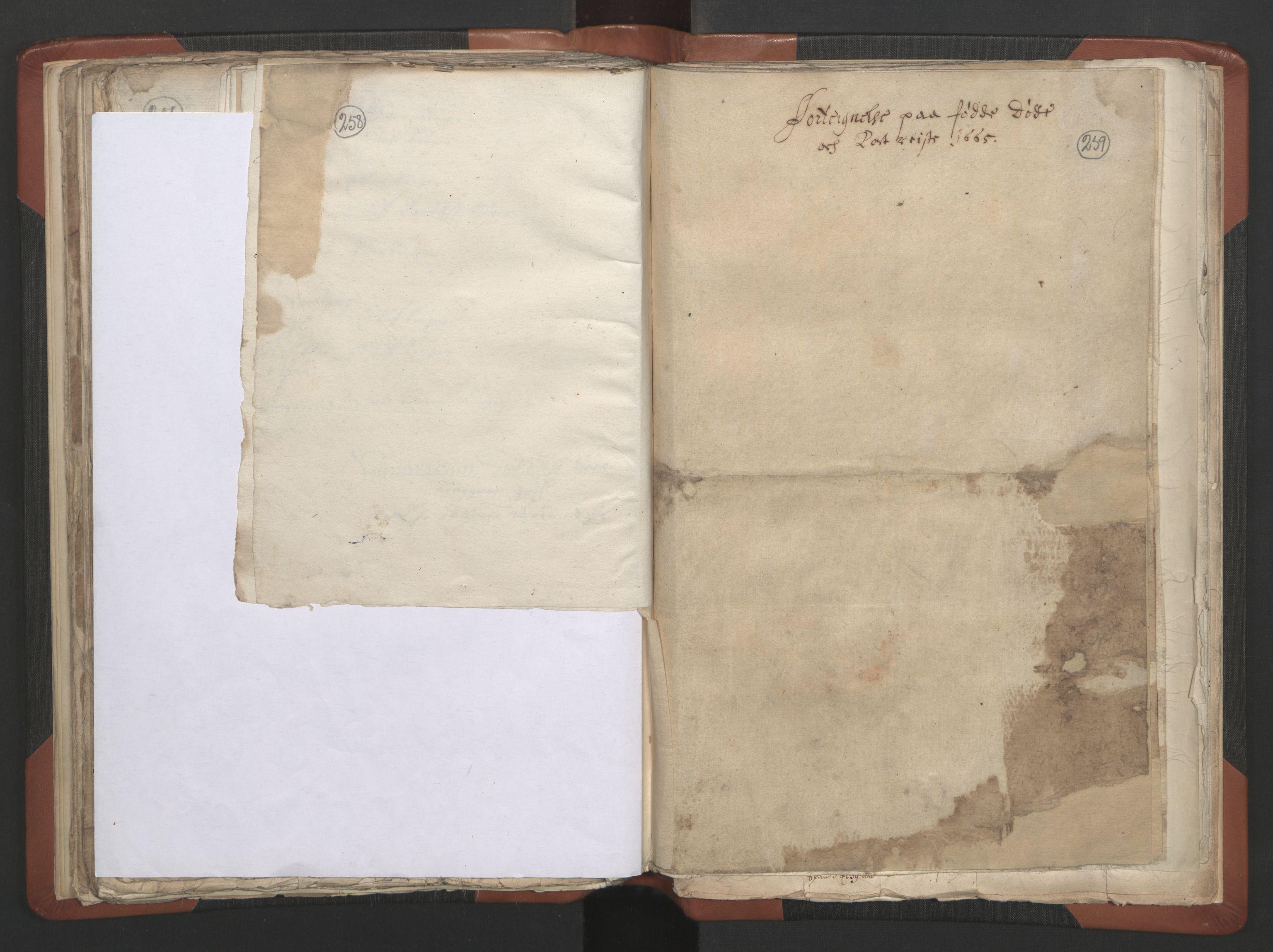 RA, Sogneprestenes manntall 1664-1666, nr. 28: Nordmøre prosti, 1664-1666, s. 258-259