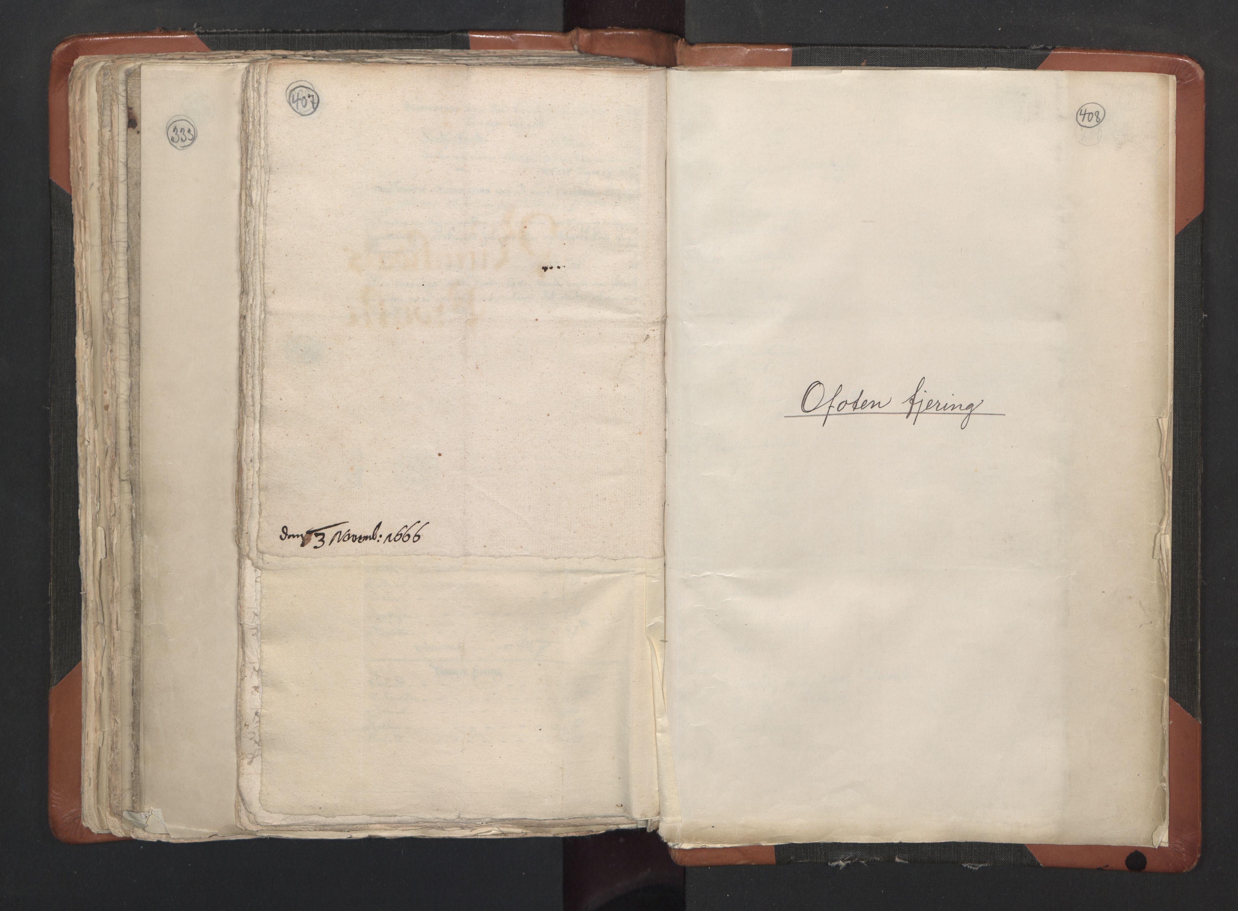 RA, Sogneprestenes manntall 1664-1666, nr. 35: Helgeland prosti og Salten prosti, 1664-1666, s. 407-408