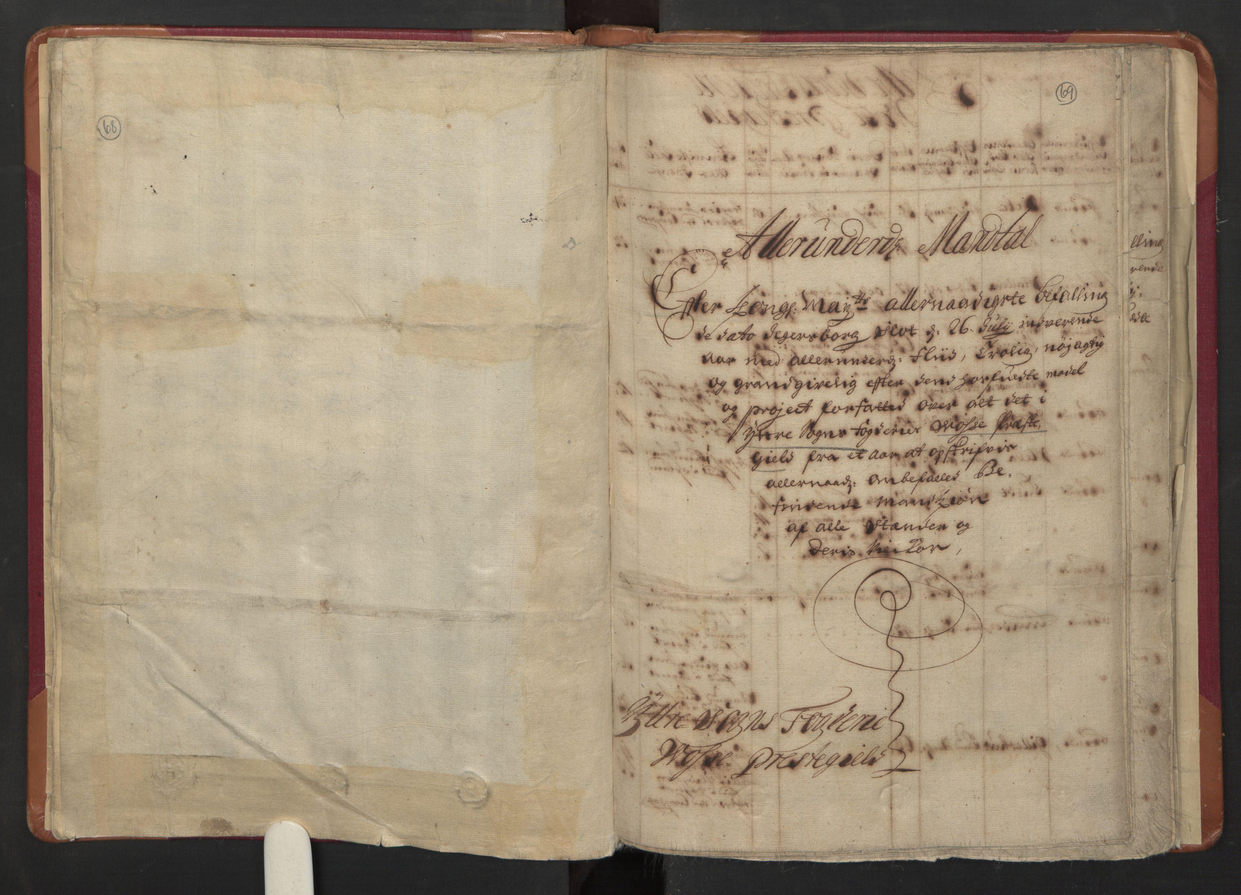 RA, Manntallet 1701, nr. 8: Ytre Sogn fogderi og Indre Sogn fogderi, 1701, s. 68-69