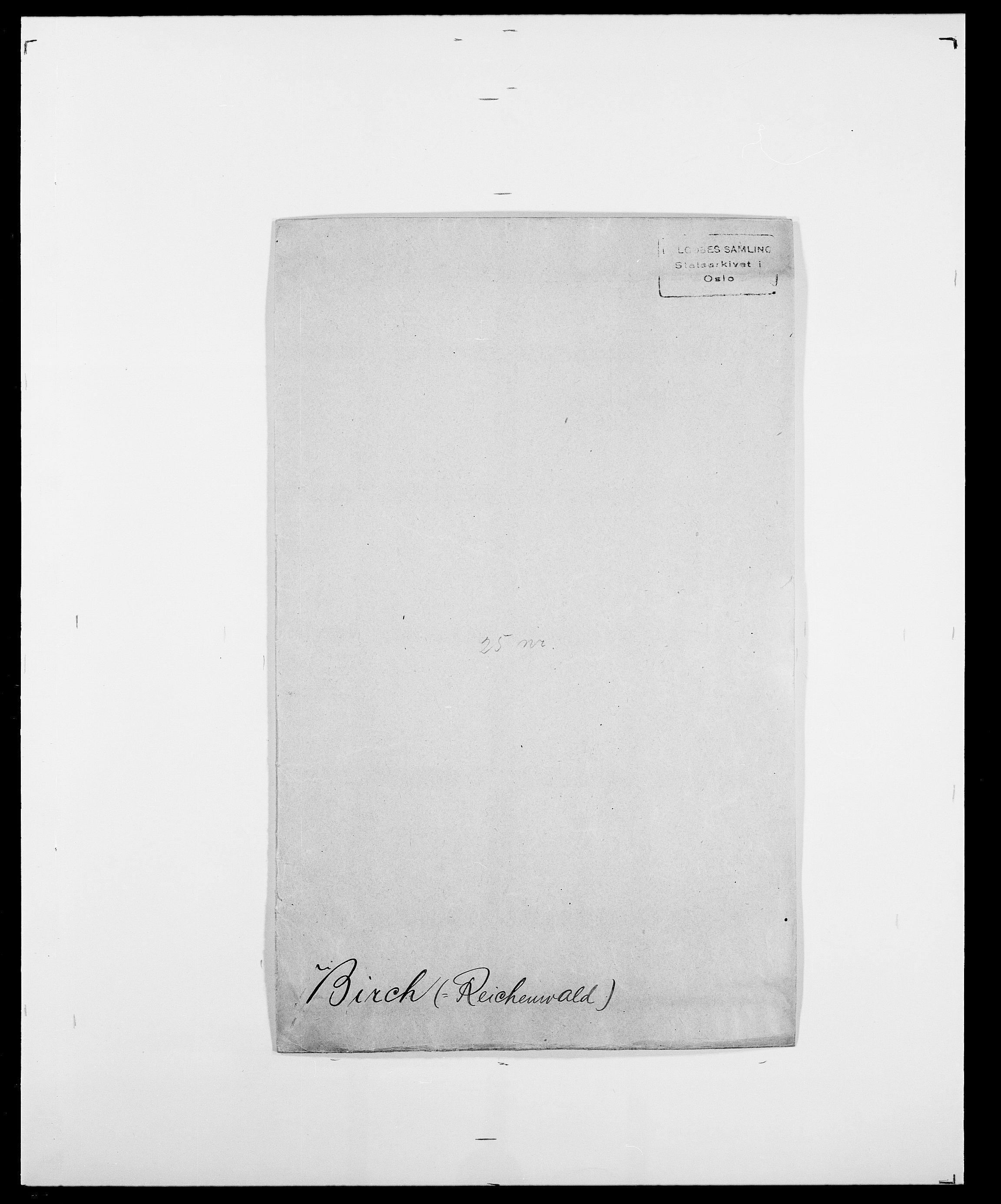 SAO, Delgobe, Charles Antoine - samling, D/Da/L0004: Bergendahl - Blære, s. 325