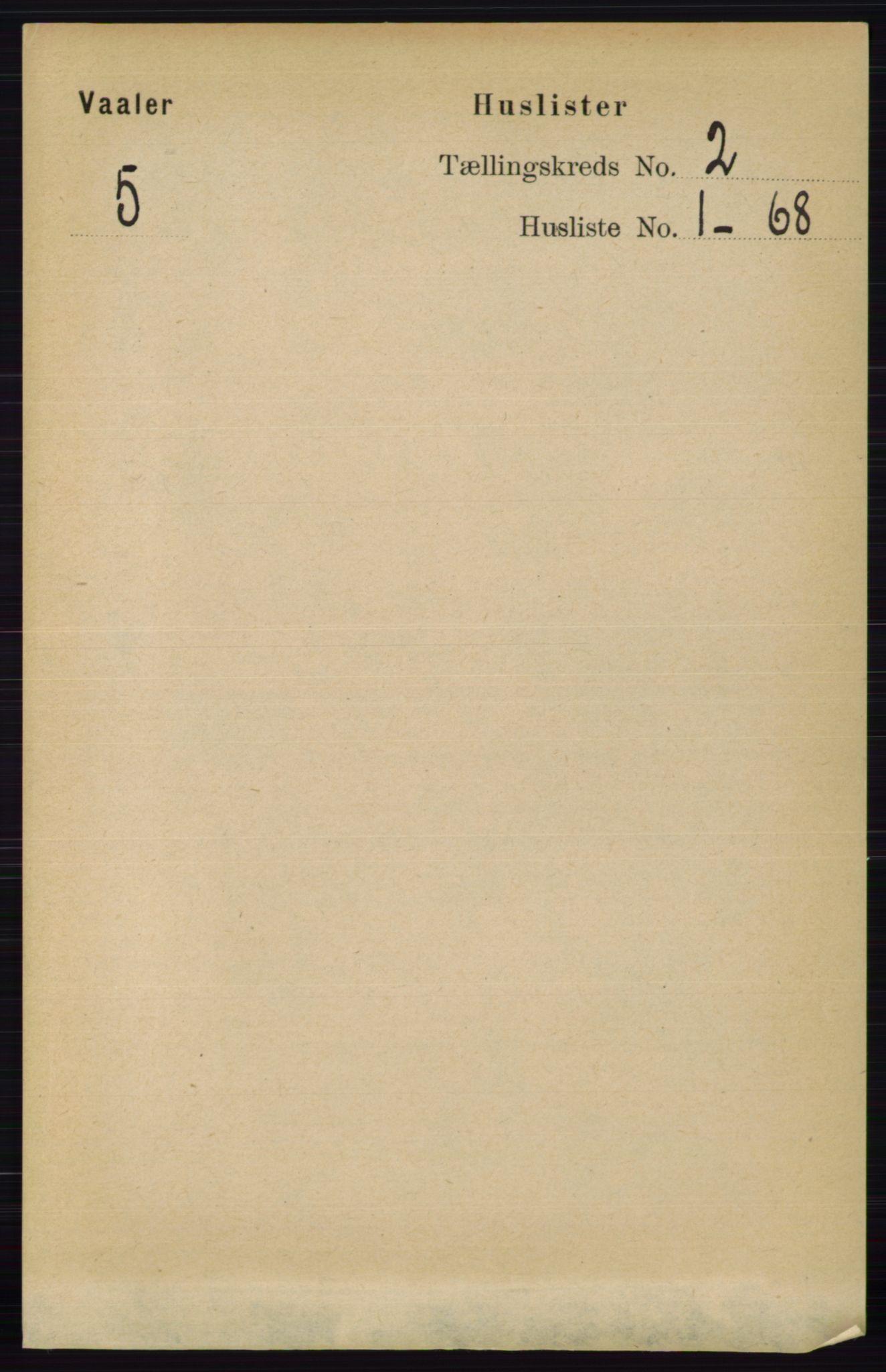 RA, Folketelling 1891 for 0137 Våler herred, 1891, s. 615