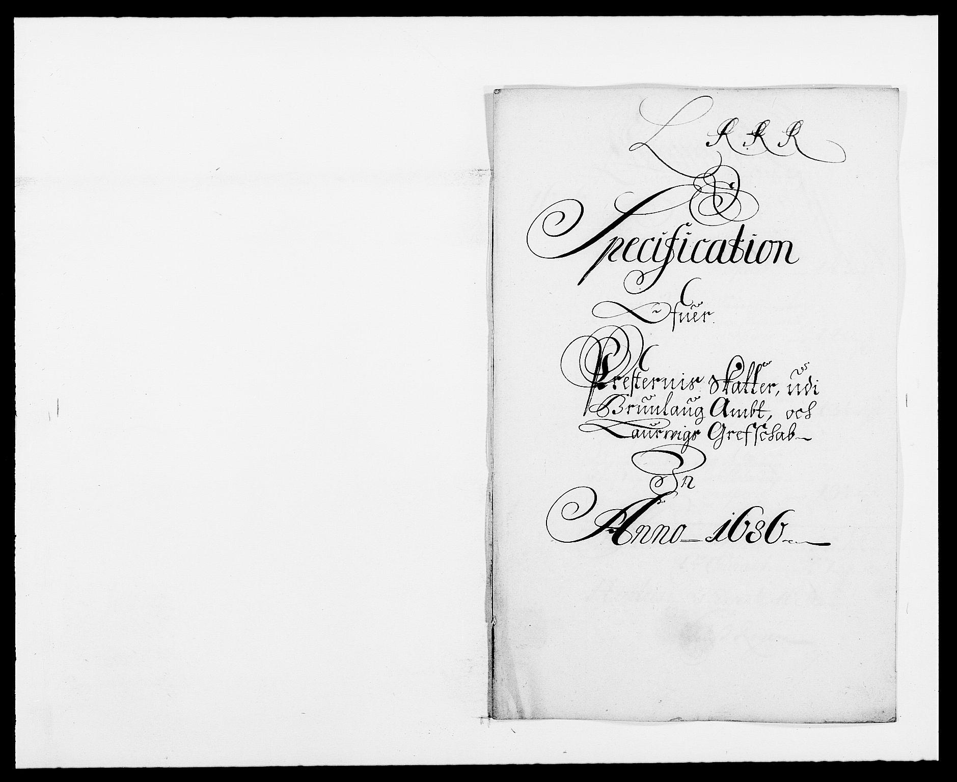 RA, Rentekammeret inntil 1814, Reviderte regnskaper, Fogderegnskap, R33/L1970: Fogderegnskap Larvik grevskap, 1675-1687, s. 244