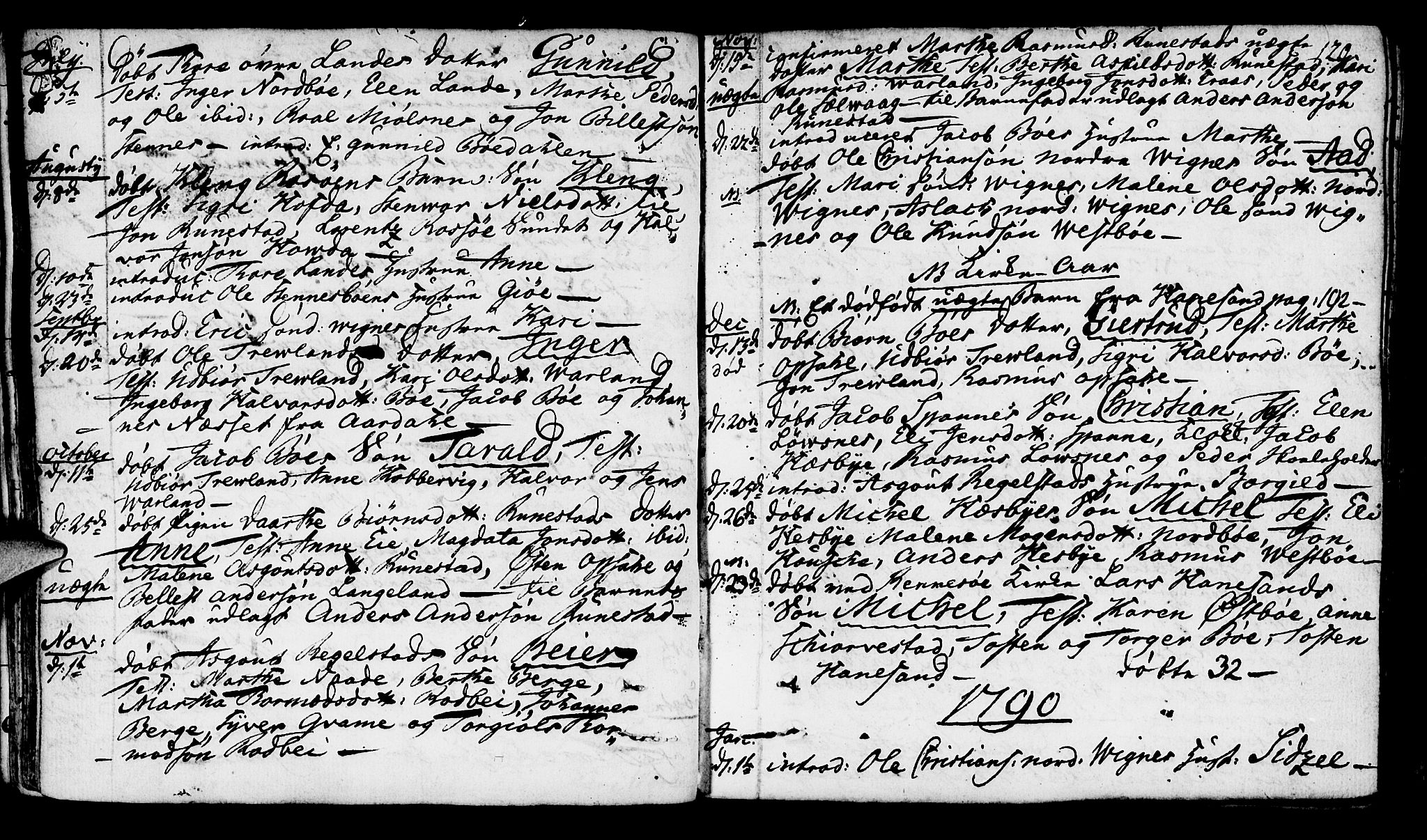 SAST, Finnøy sokneprestkontor, H/Ha/Haa/L0005: Ministerialbok nr. A 5, 1773-1816, s. 120
