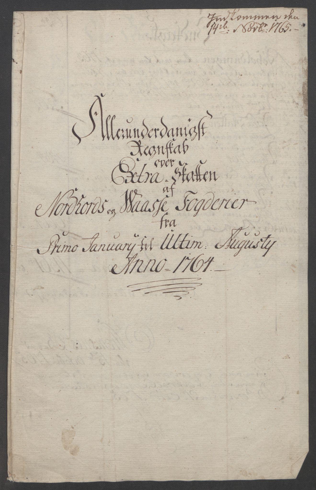 RA, Rentekammeret inntil 1814, Reviderte regnskaper, Fogderegnskap, R51/L3303: Ekstraskatten Nordhordland og Voss, 1762-1772, s. 73