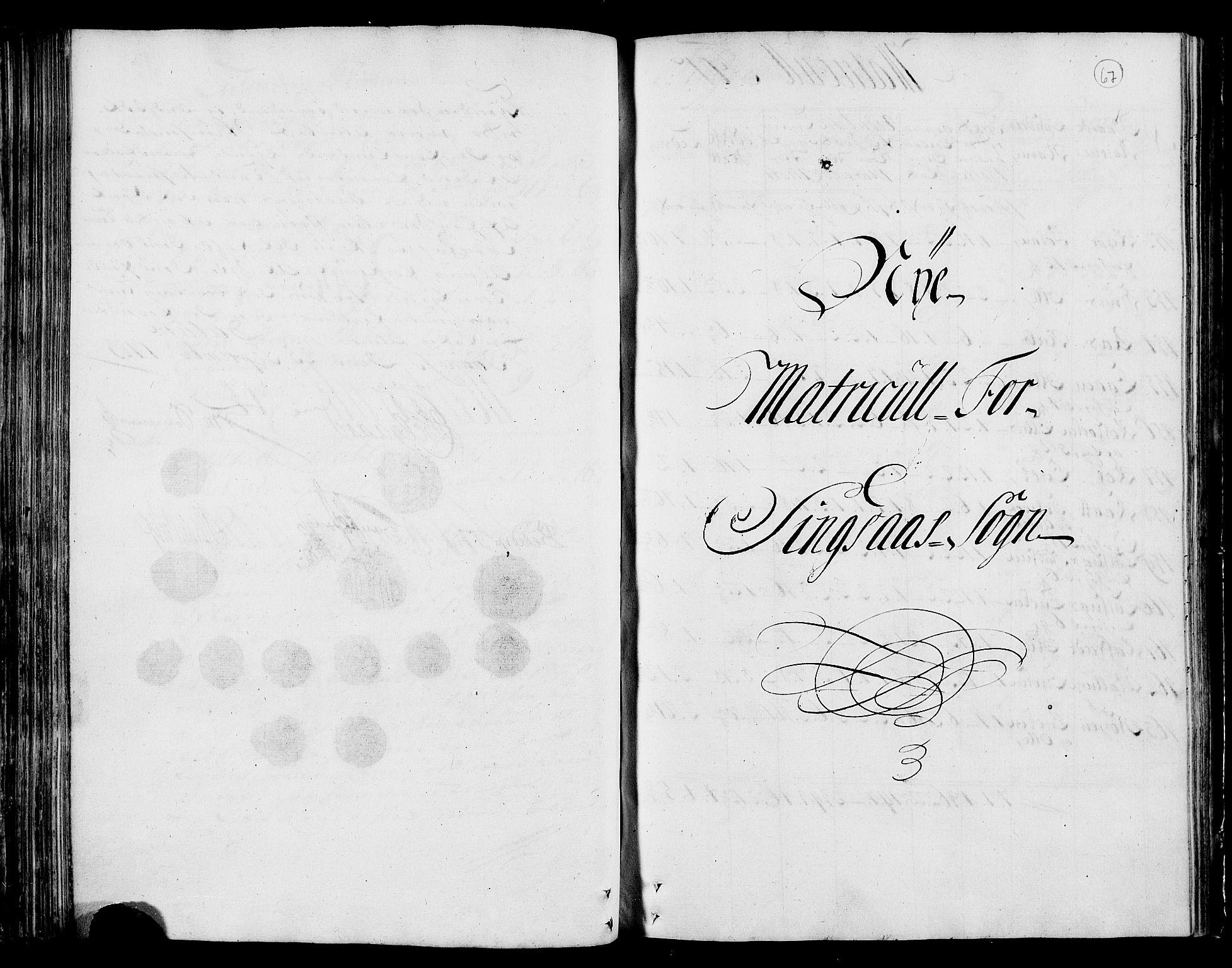 RA, Rentekammeret inntil 1814, Realistisk ordnet avdeling, N/Nb/Nbf/L0159: Gauldal matrikkelprotokoll, 1723, s. 66b-67a