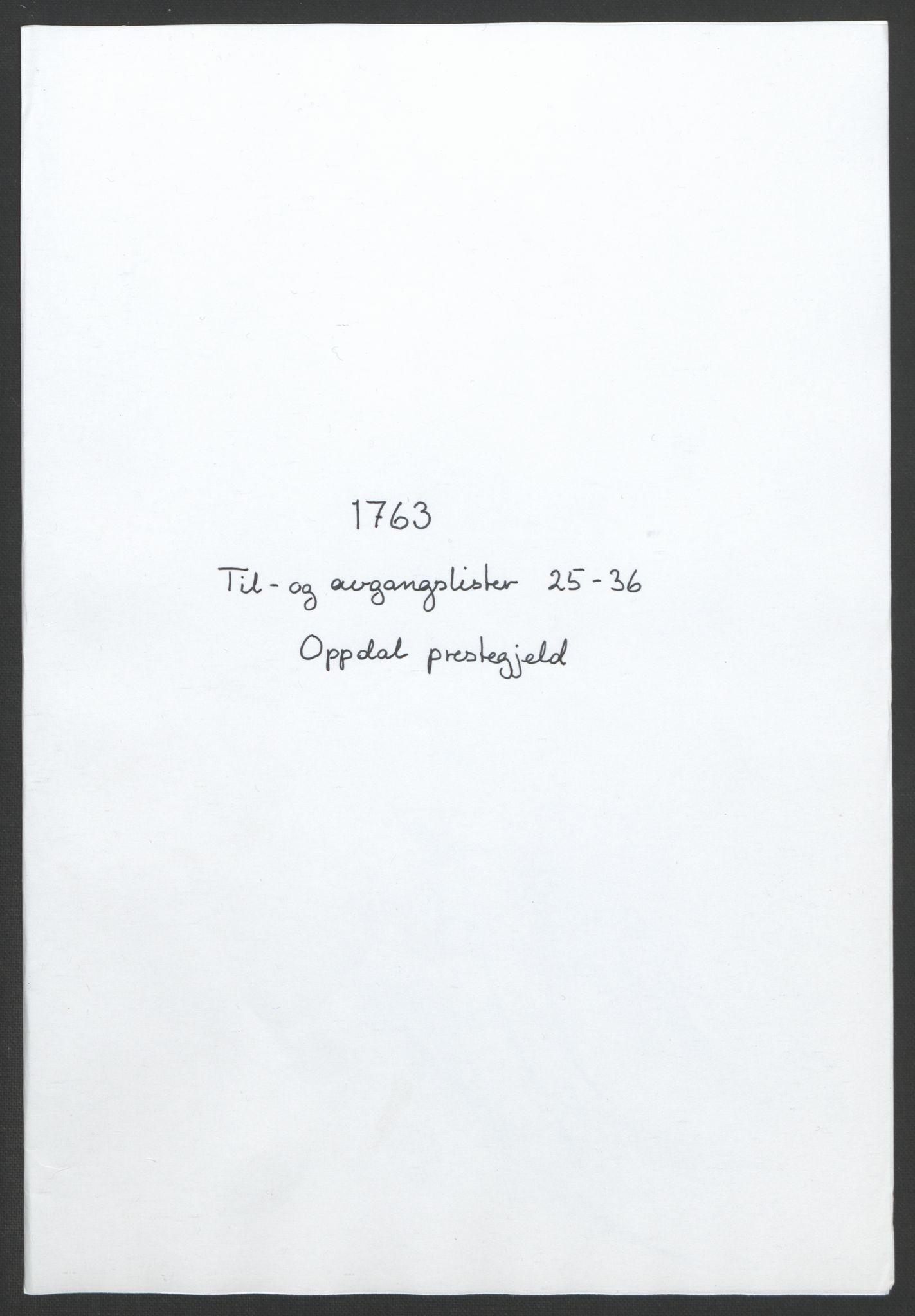 RA, Rentekammeret inntil 1814, Realistisk ordnet avdeling, Ol/L0021: [Gg 10]: Ekstraskatten, 23.09.1762. Orkdal og Gauldal, 1762-1767, s. 296
