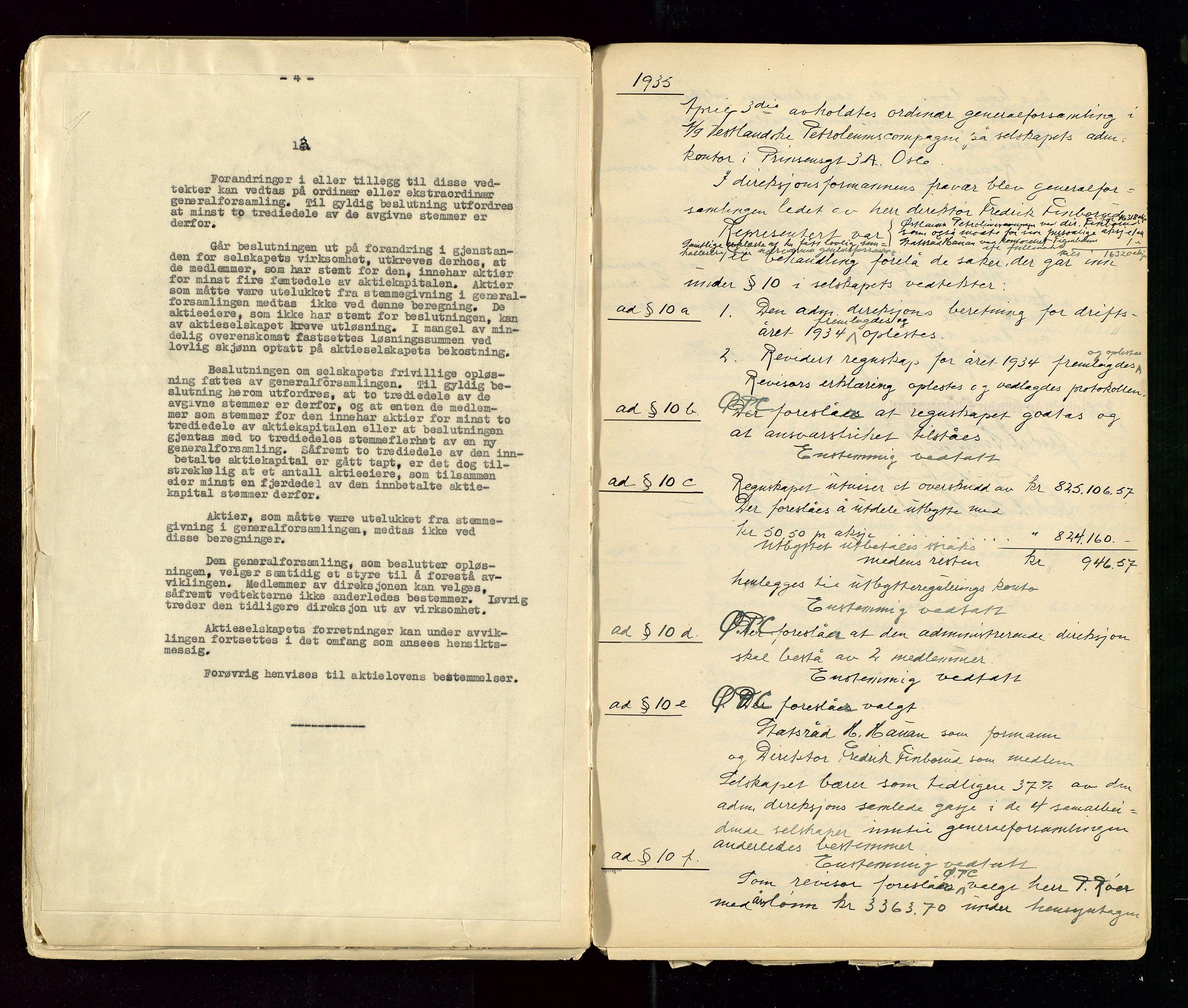 SAST, PA 1533 - A/S Vestlandske Petroleumscompani, A/Aa/L0001: Generalforsamlinger og styreprotokoller, 1890-1953, s. 109