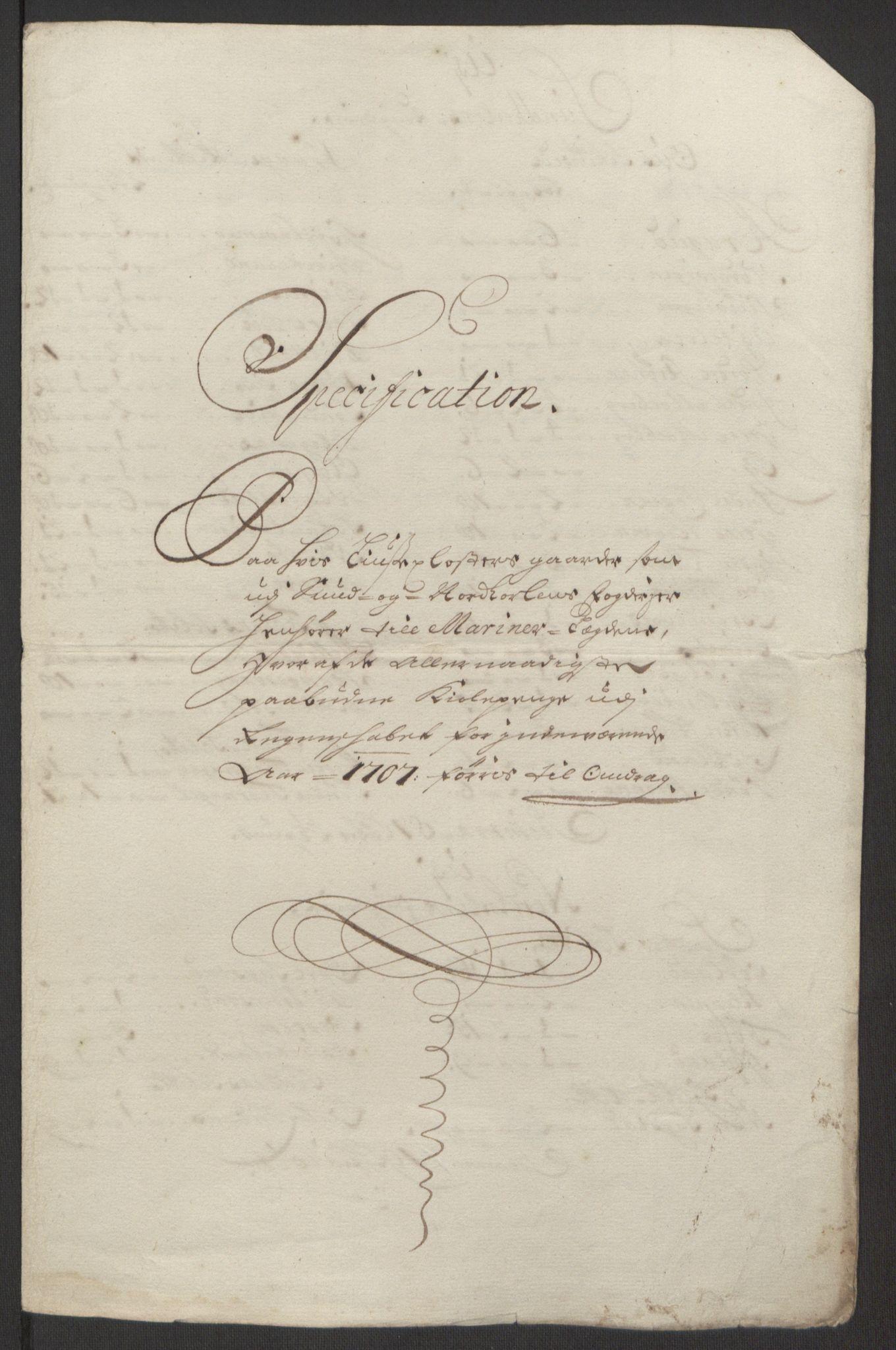 RA, Rentekammeret inntil 1814, Reviderte regnskaper, Fogderegnskap, R50/L3159: Fogderegnskap Lyse kloster, 1691-1709, s. 273