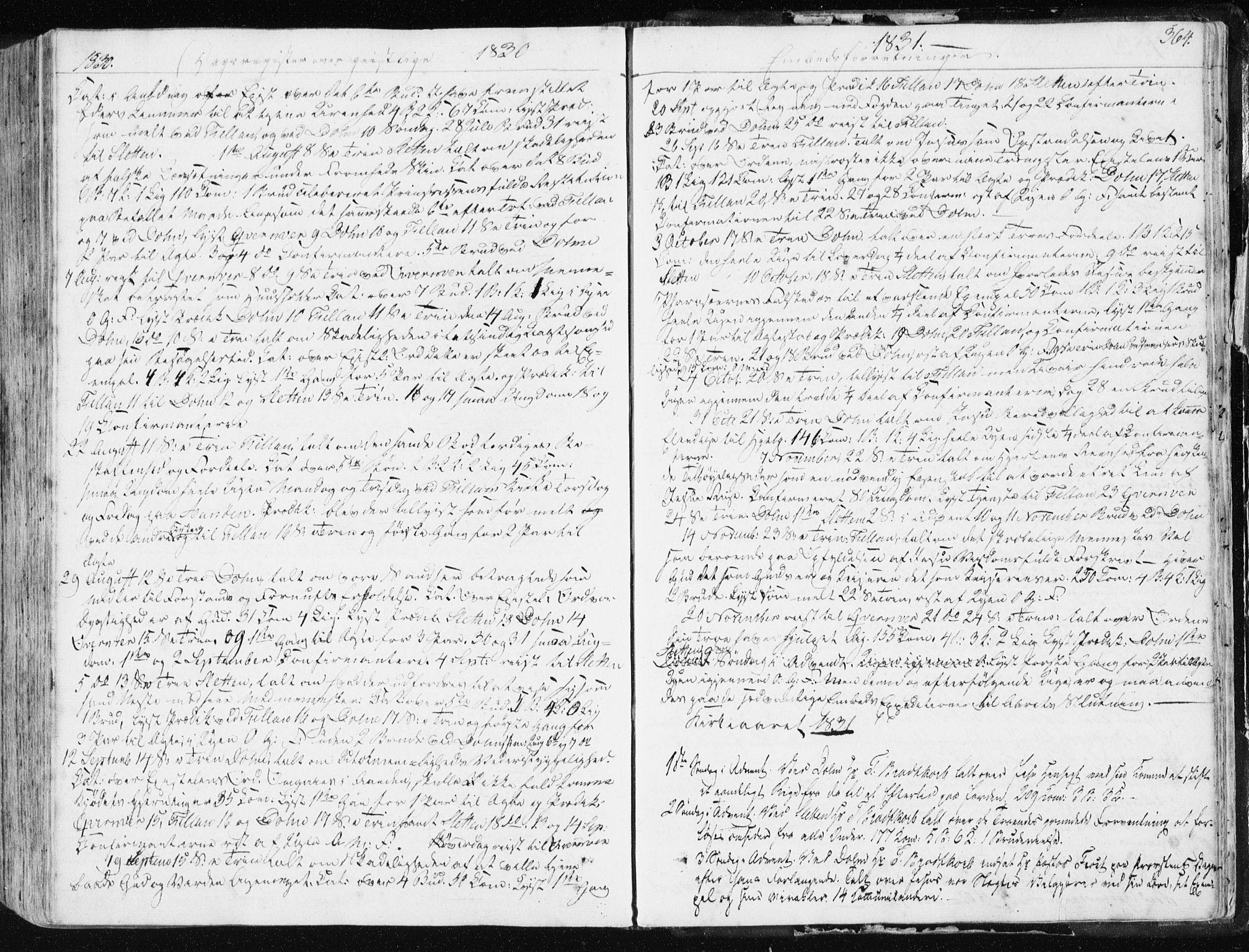 SAT, Ministerialprotokoller, klokkerbøker og fødselsregistre - Sør-Trøndelag, 634/L0528: Ministerialbok nr. 634A04, 1827-1842, s. 364