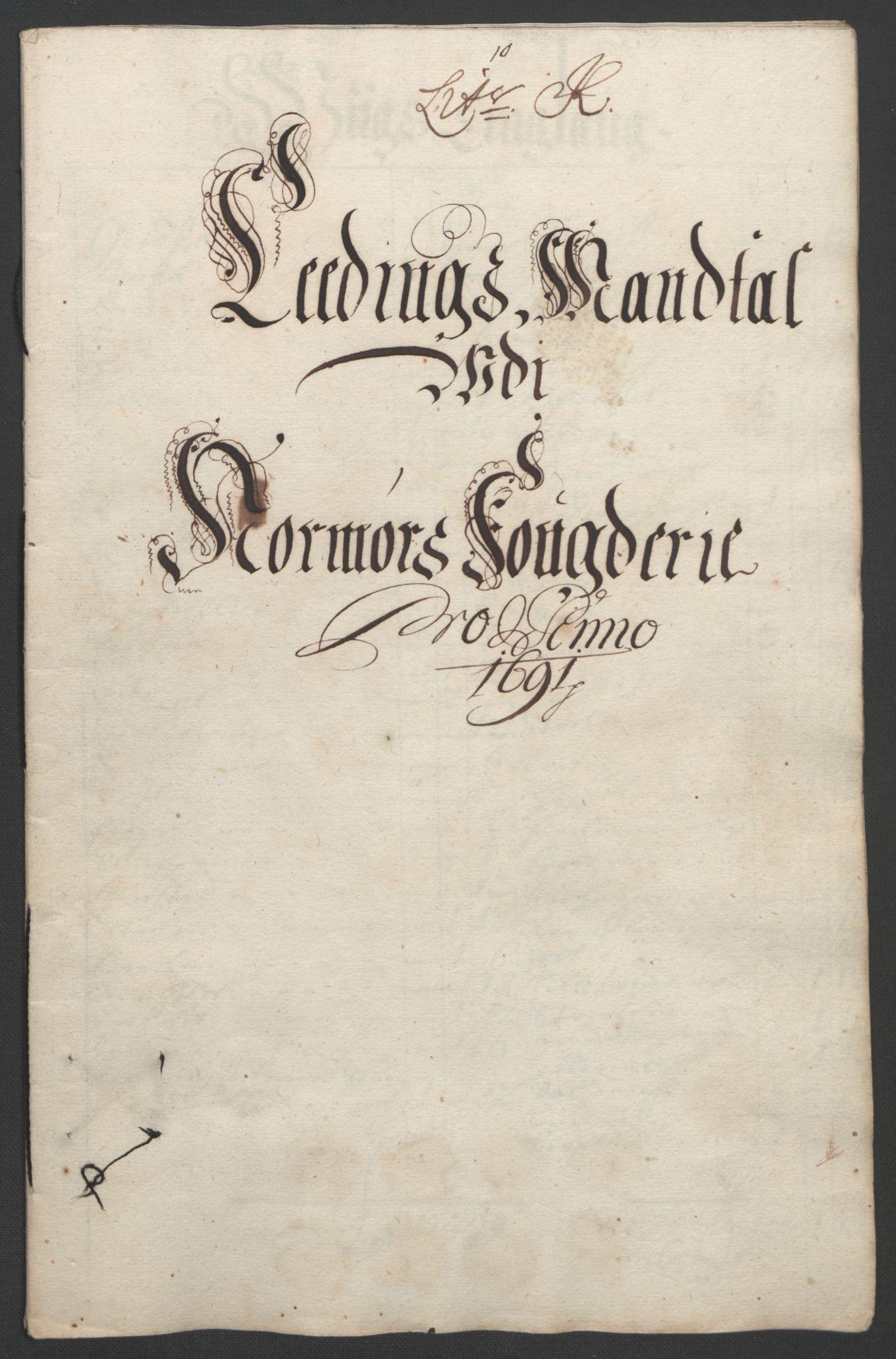RA, Rentekammeret inntil 1814, Reviderte regnskaper, Fogderegnskap, R56/L3734: Fogderegnskap Nordmøre, 1690-1691, s. 374