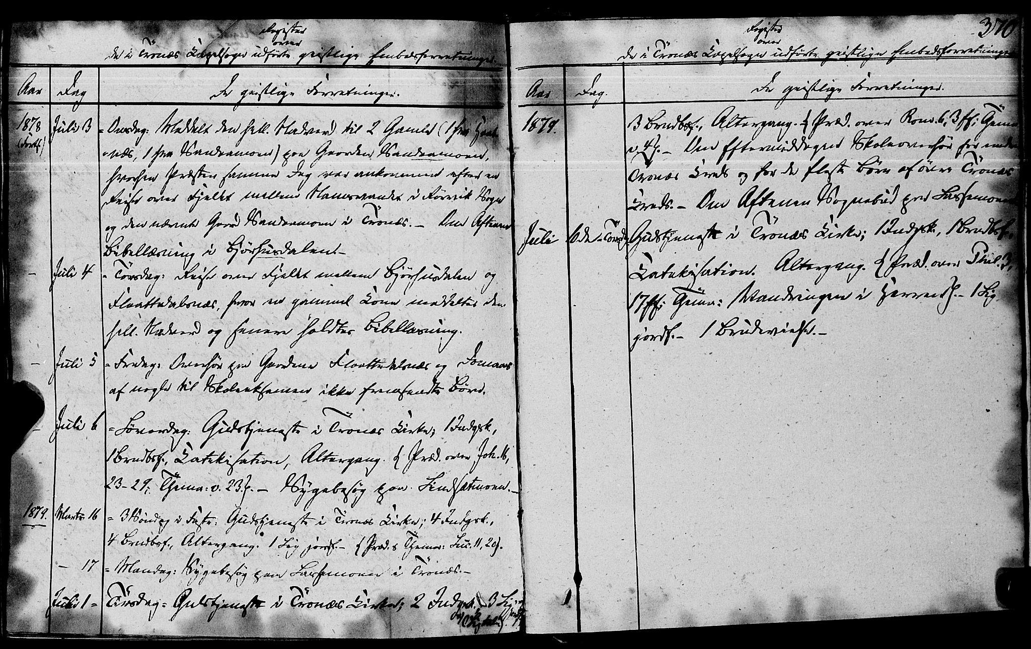 SAT, Ministerialprotokoller, klokkerbøker og fødselsregistre - Nord-Trøndelag, 762/L0538: Ministerialbok nr. 762A02 /2, 1833-1879, s. 370