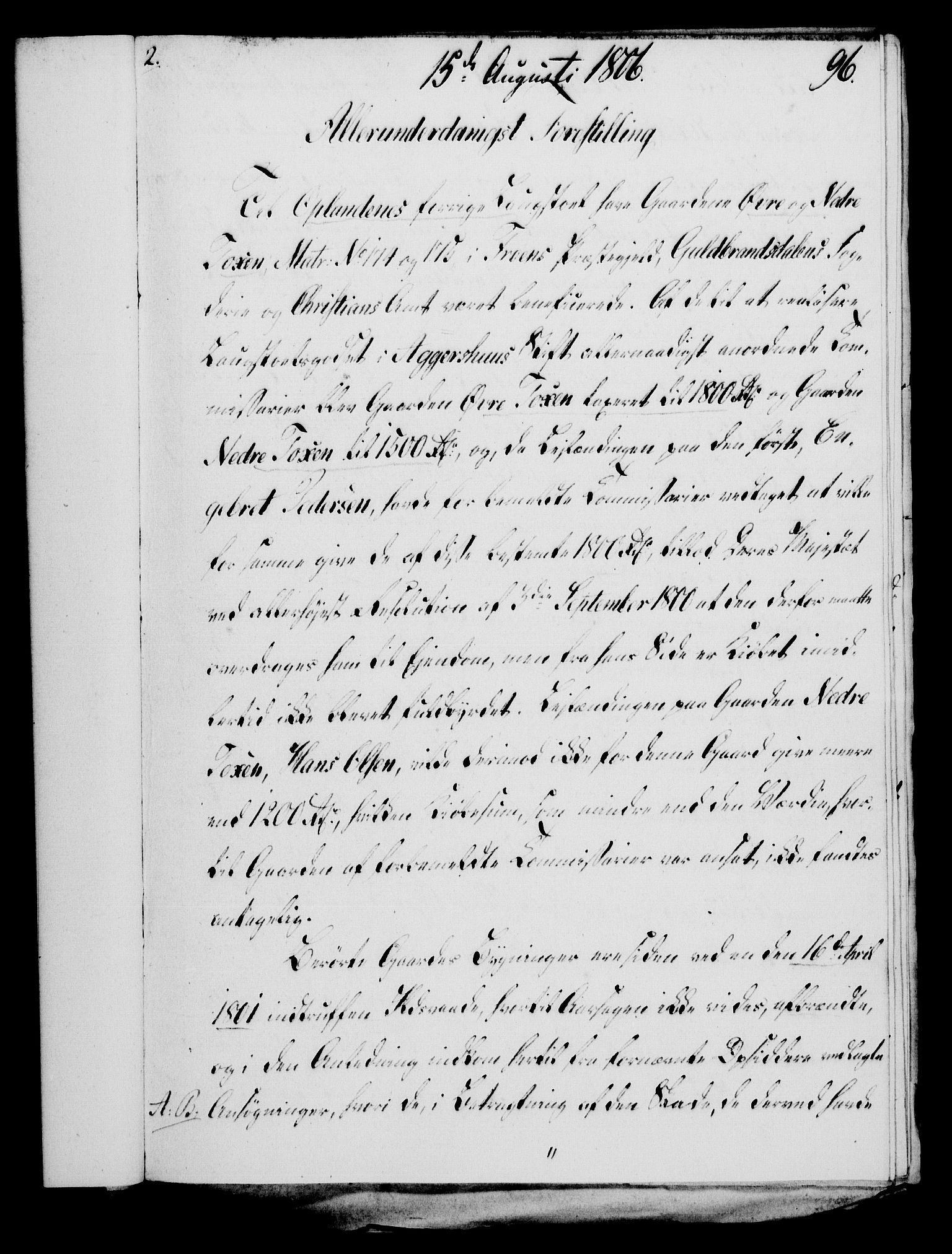 RA, Rentekammeret, Kammerkanselliet, G/Gf/Gfa/L0088: Norsk relasjons- og resolusjonsprotokoll (merket RK 52.88), 1806, s. 586