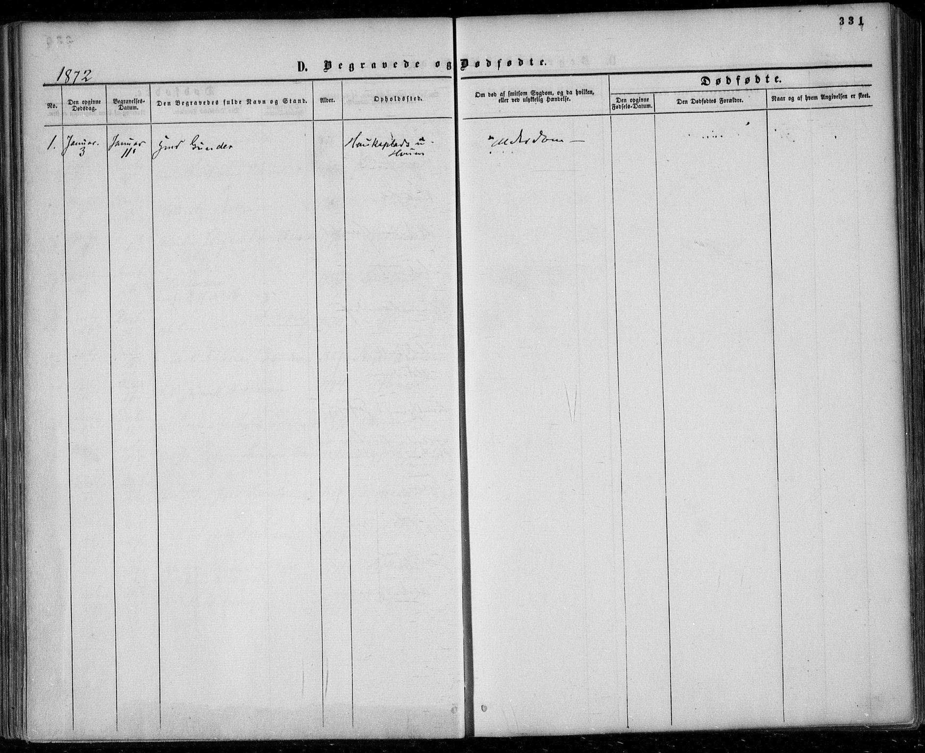 SAKO, Gjerpen kirkebøker, F/Fa/L0008b: Ministerialbok nr. 8B, 1857-1871, s. 331