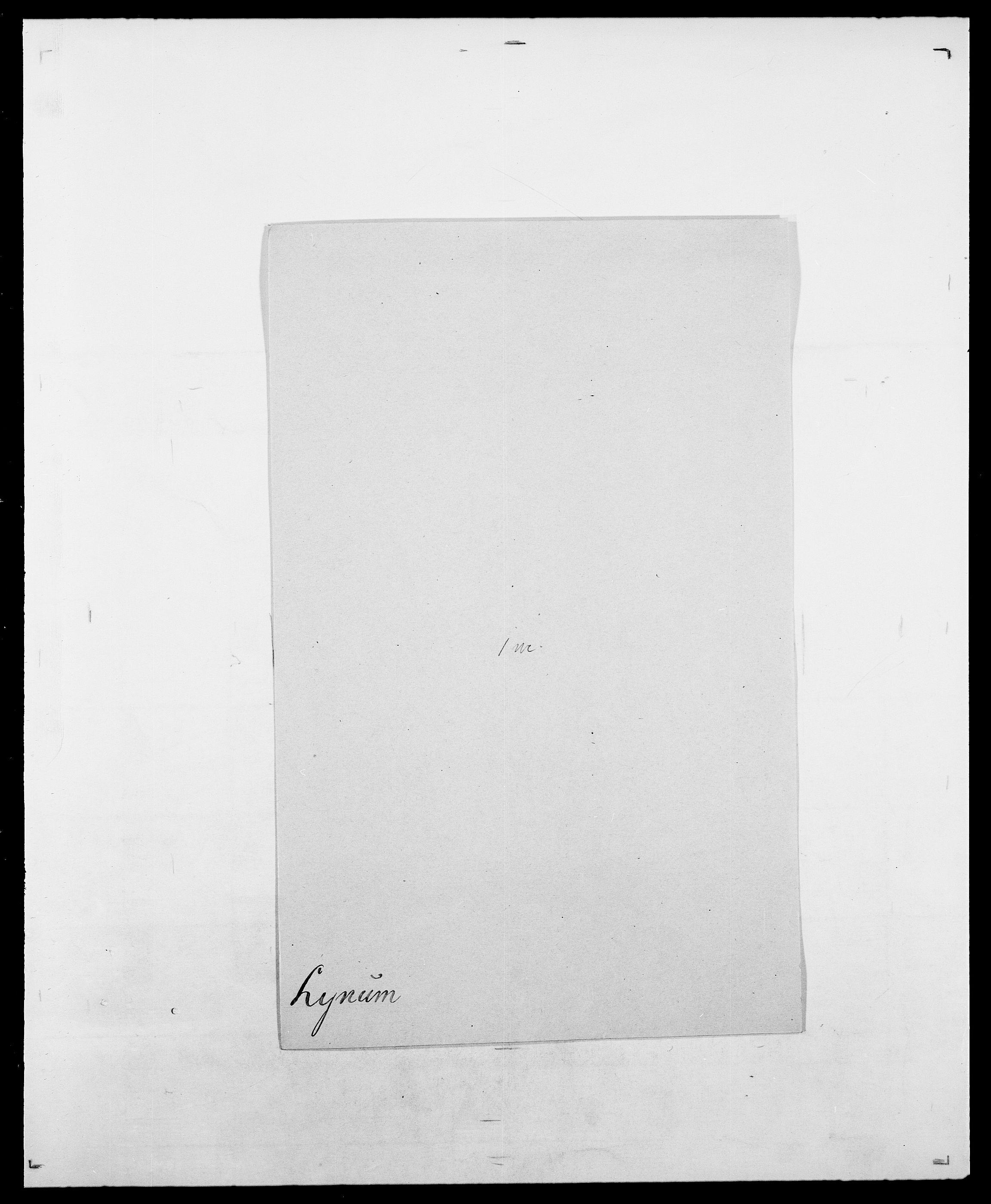 SAO, Delgobe, Charles Antoine - samling, D/Da/L0024: Lobech - Lærum, s. 768