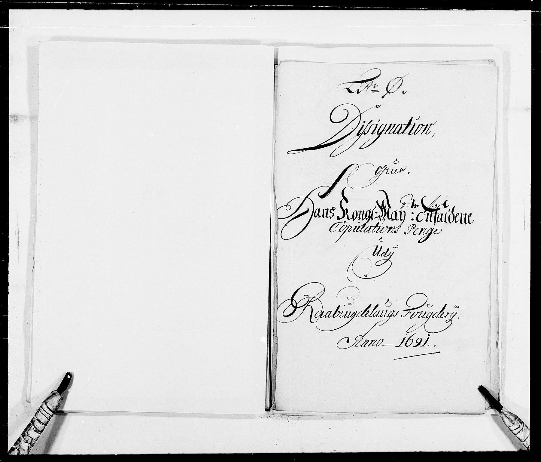 RA, Rentekammeret inntil 1814, Reviderte regnskaper, Fogderegnskap, R40/L2443: Fogderegnskap Råbyggelag, 1691-1692, s. 66