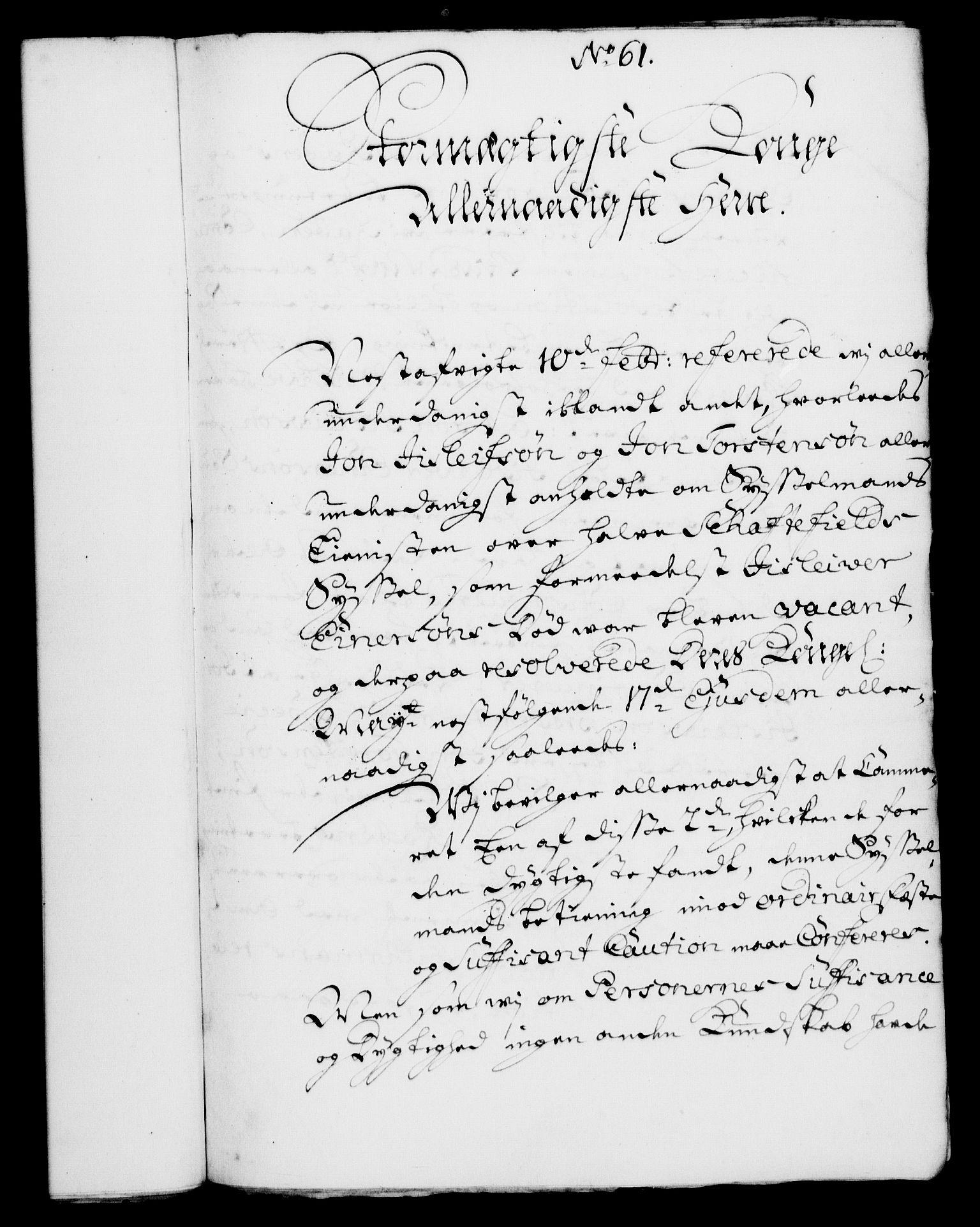 RA, Rentekammeret, Kammerkanselliet, G/Gf/Gfa/L0004: Norsk relasjons- og resolusjonsprotokoll (merket RK 52.4), 1721, s. 558