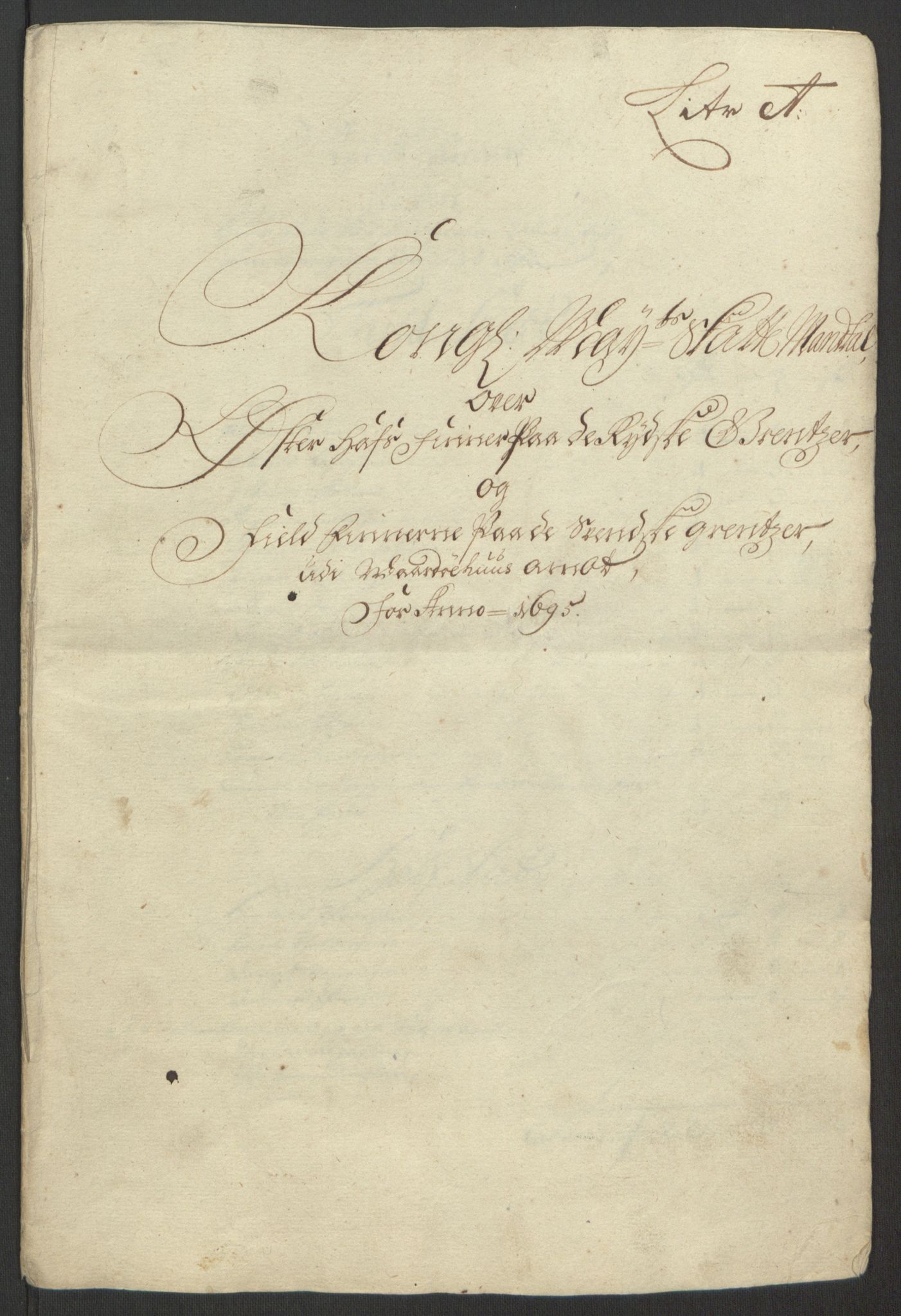 RA, Rentekammeret inntil 1814, Reviderte regnskaper, Fogderegnskap, R69/L4851: Fogderegnskap Finnmark/Vardøhus, 1691-1700, s. 232