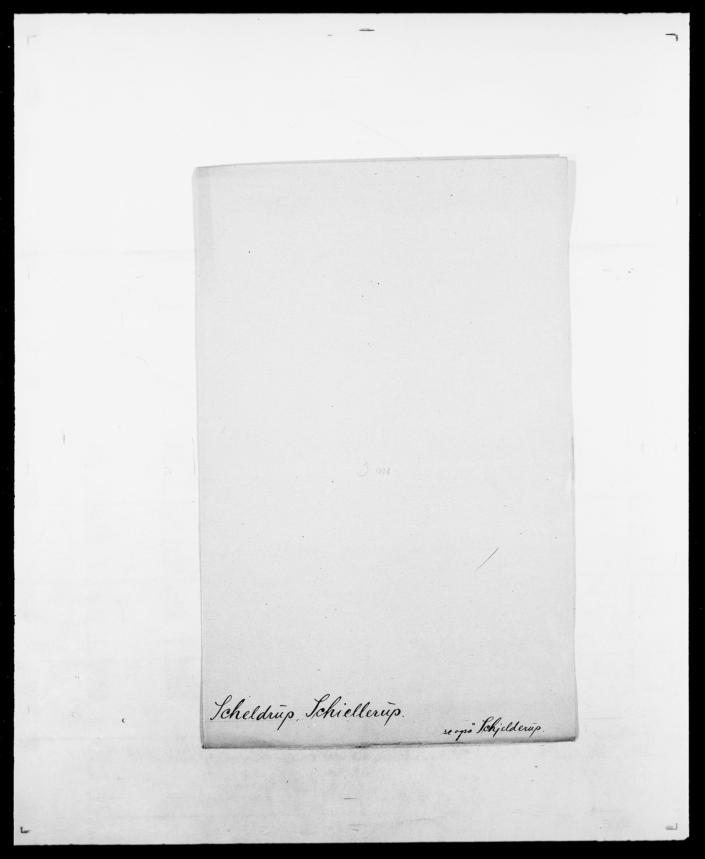 SAO, Delgobe, Charles Antoine - samling, D/Da/L0034: Saabye - Schmincke, s. 469