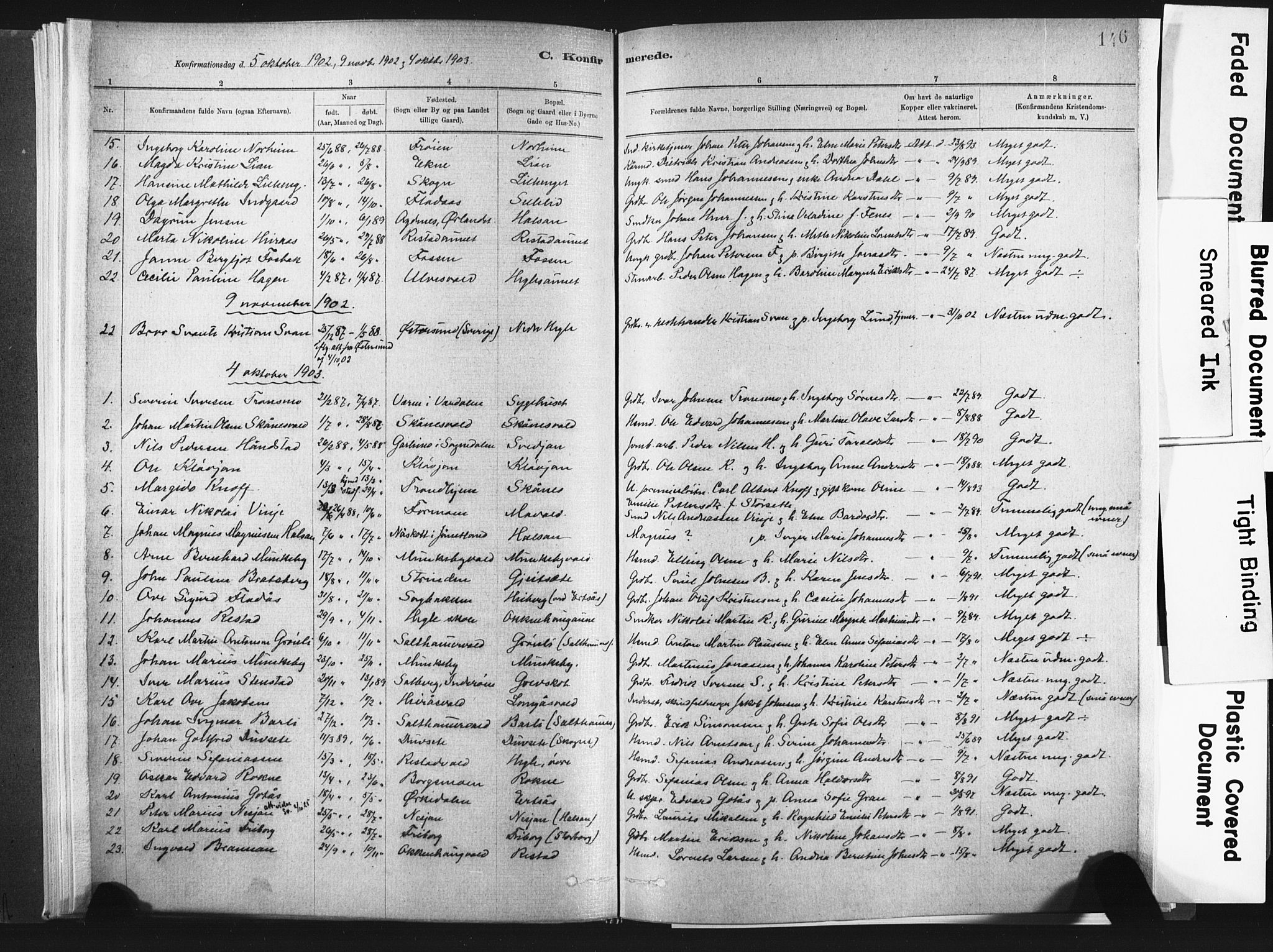 SAT, Ministerialprotokoller, klokkerbøker og fødselsregistre - Nord-Trøndelag, 721/L0207: Ministerialbok nr. 721A02, 1880-1911, s. 146