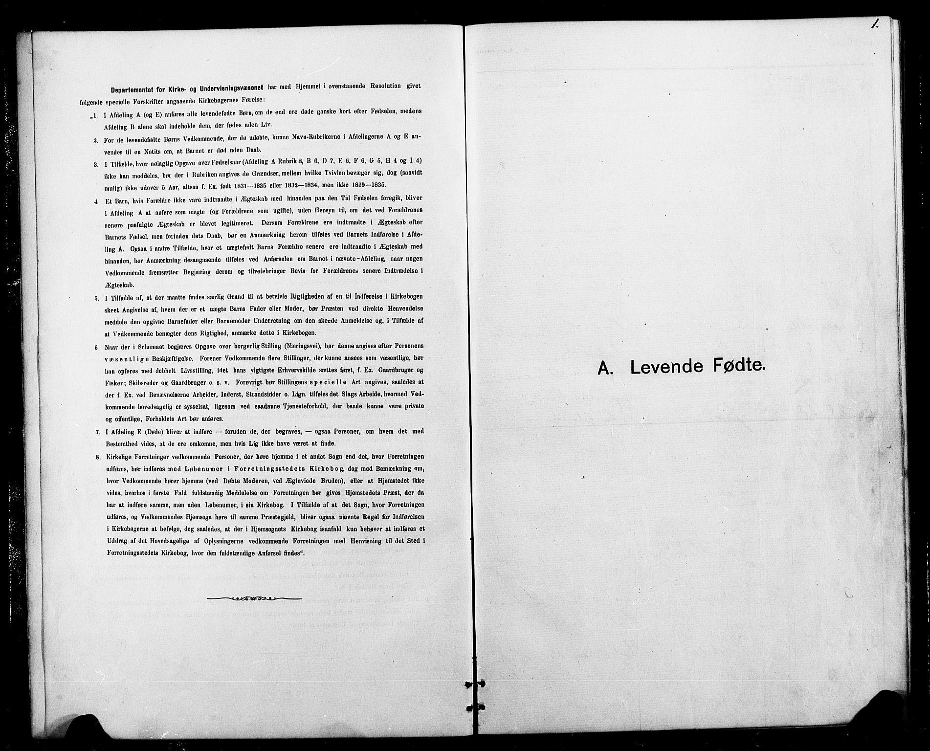 SAT, Ministerialprotokoller, klokkerbøker og fødselsregistre - Sør-Trøndelag, 693/L1123: Klokkerbok nr. 693C04, 1887-1910, s. 1