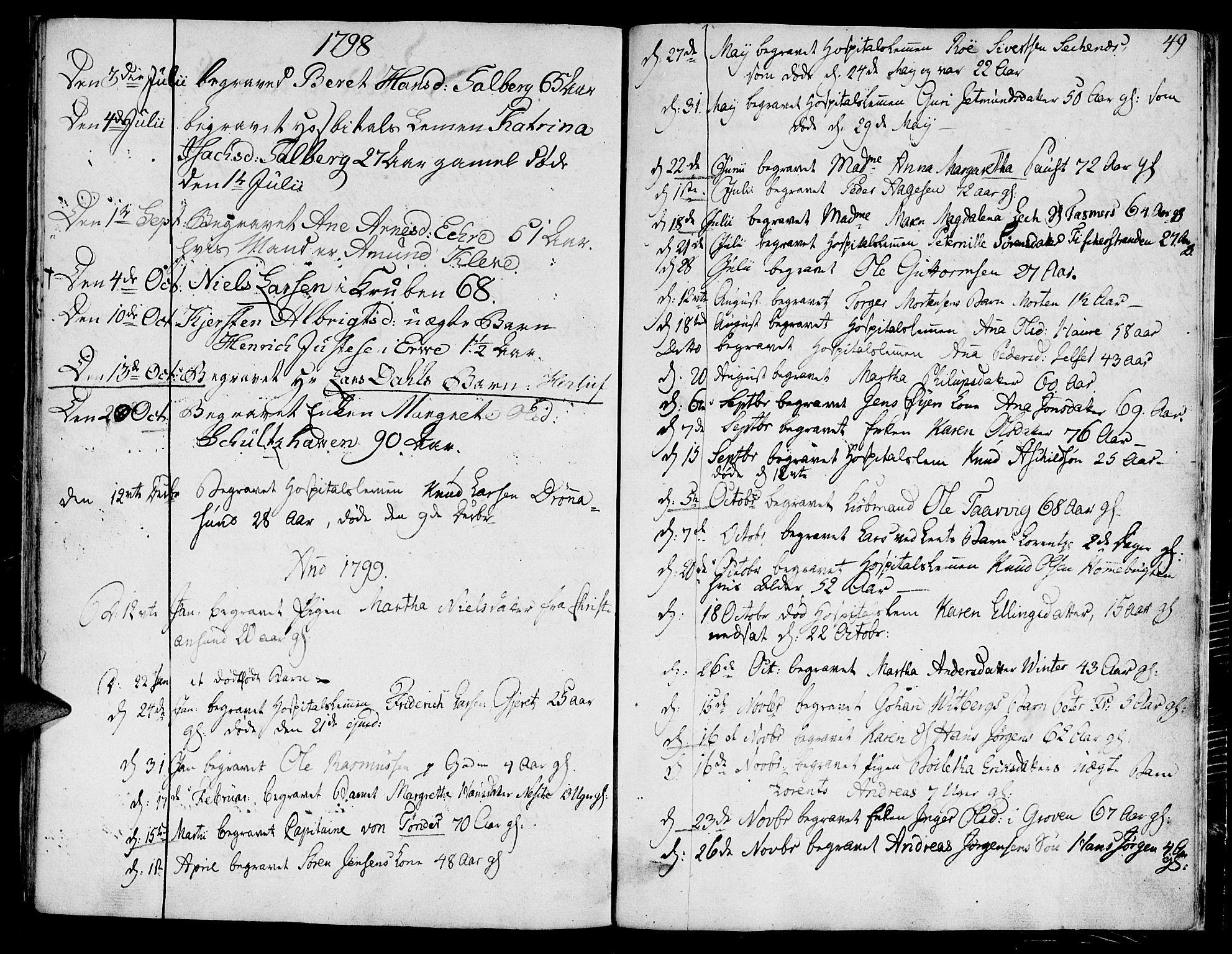 SAT, Ministerialprotokoller, klokkerbøker og fødselsregistre - Møre og Romsdal, 558/L0687: Ministerialbok nr. 558A01, 1798-1818, s. 49