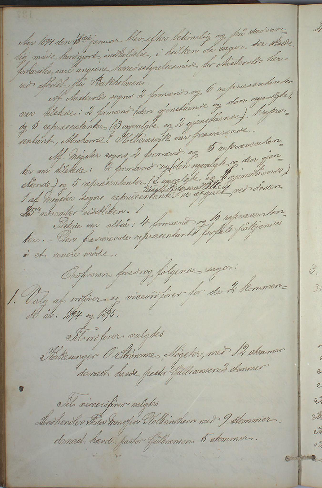 IKAH, Austevoll kommune. Formannskapet, A/Aa/L0001: Østervolds Herredsforhandlings-protokoll, 1886-1900, s. 275