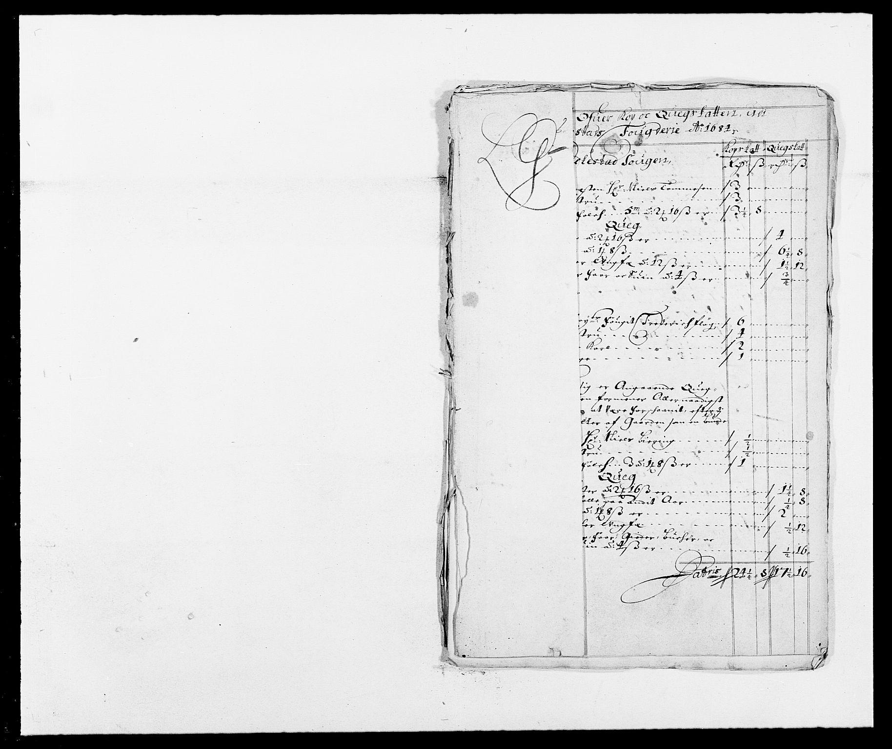 RA, Rentekammeret inntil 1814, Reviderte regnskaper, Fogderegnskap, R05/L0274: Fogderegnskap Rakkestad, 1683-1684, s. 373
