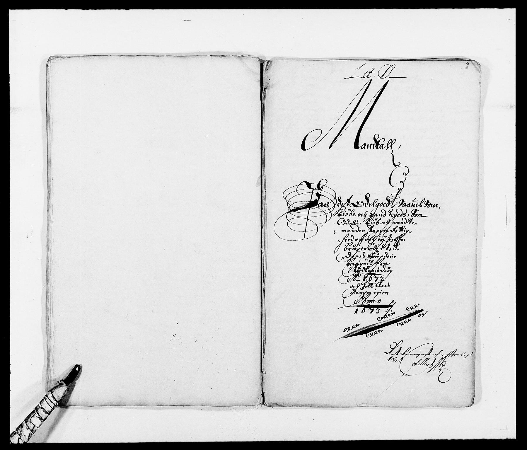 RA, Rentekammeret inntil 1814, Reviderte regnskaper, Fogderegnskap, R39/L2300: Fogderegnskap Nedenes, 1672-1674, s. 73