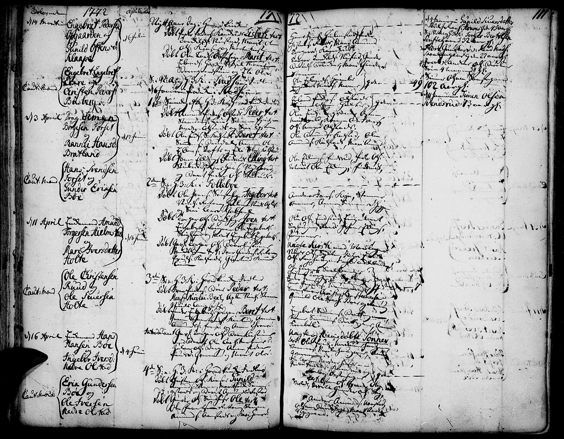 SAH, Gausdal prestekontor, Ministerialbok nr. 3, 1758-1809, s. 111