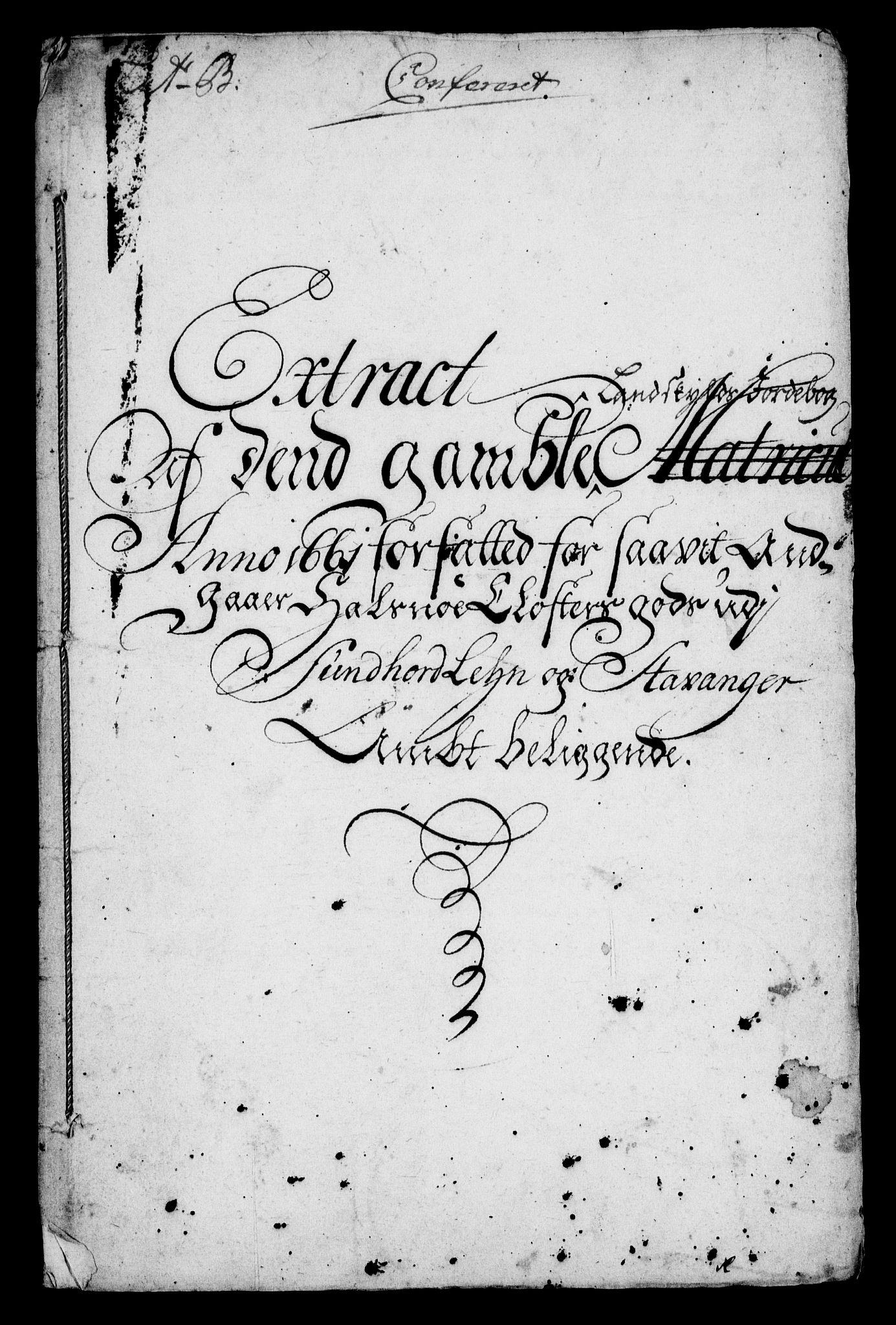 RA, Rentekammeret inntil 1814, Realistisk ordnet avdeling, On/L0005: [Jj 6]: Forskjellige dokumenter om Halsnøy klosters gods, 1697-1770, s. 247
